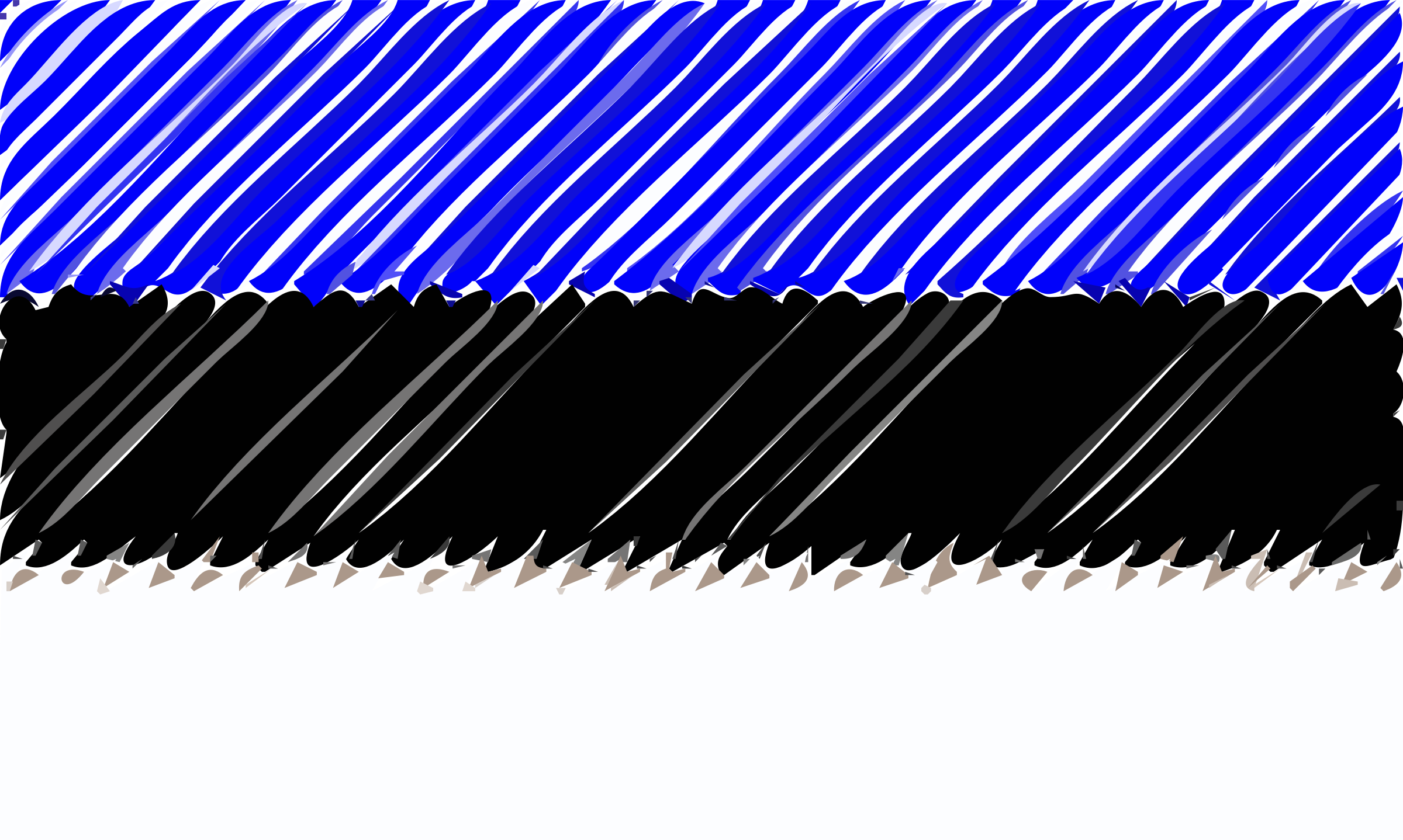 Estonia flag linear by Joesph