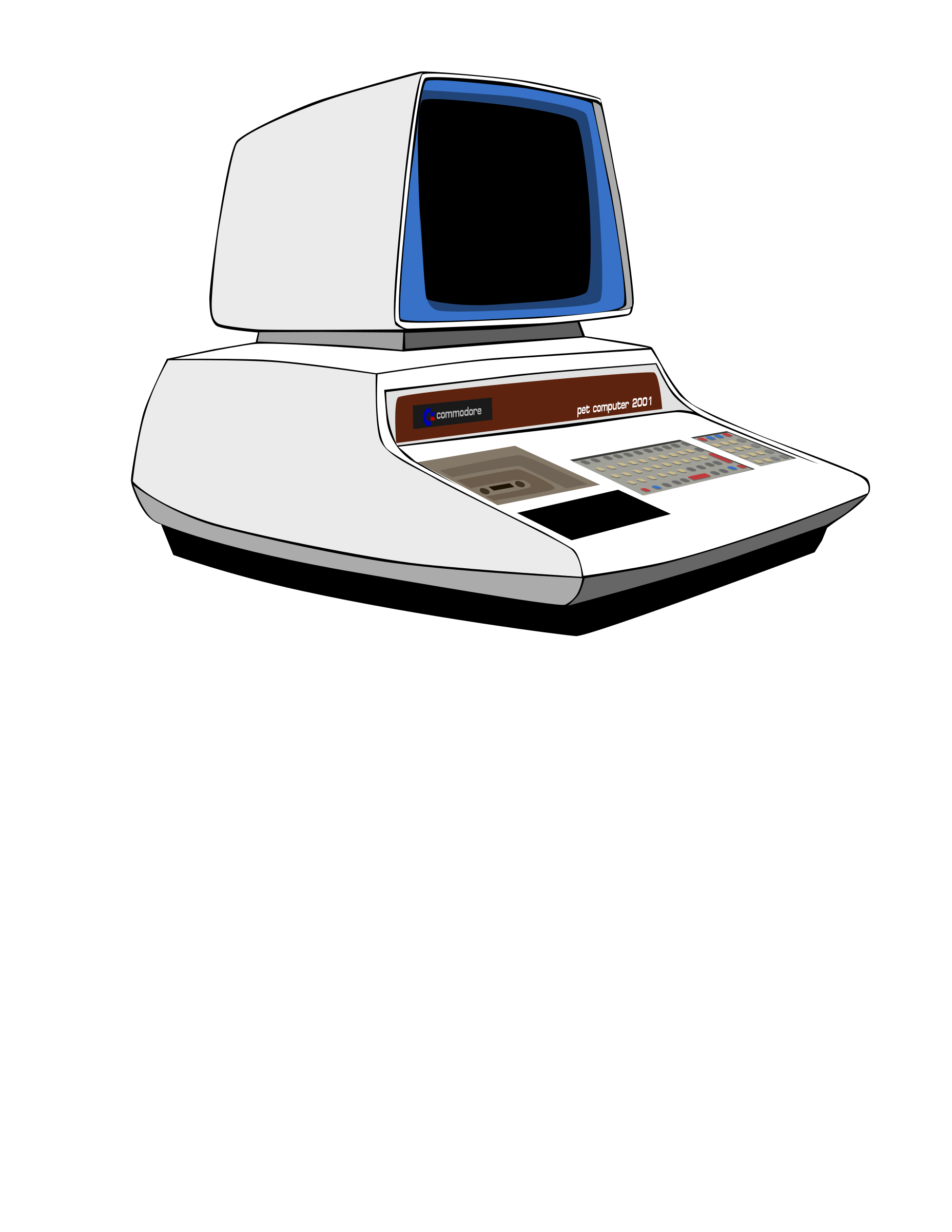 Commodore PET Computer Prototype by larrymade