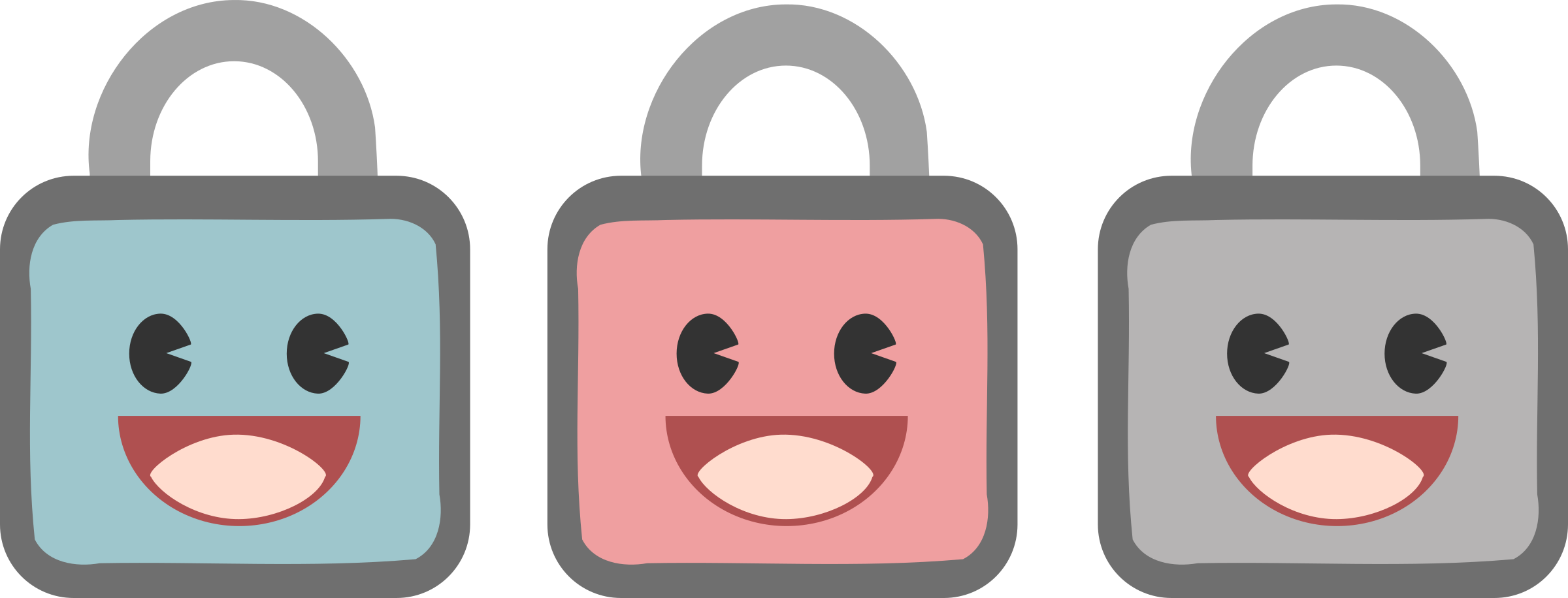 Cute lock icons by anarres