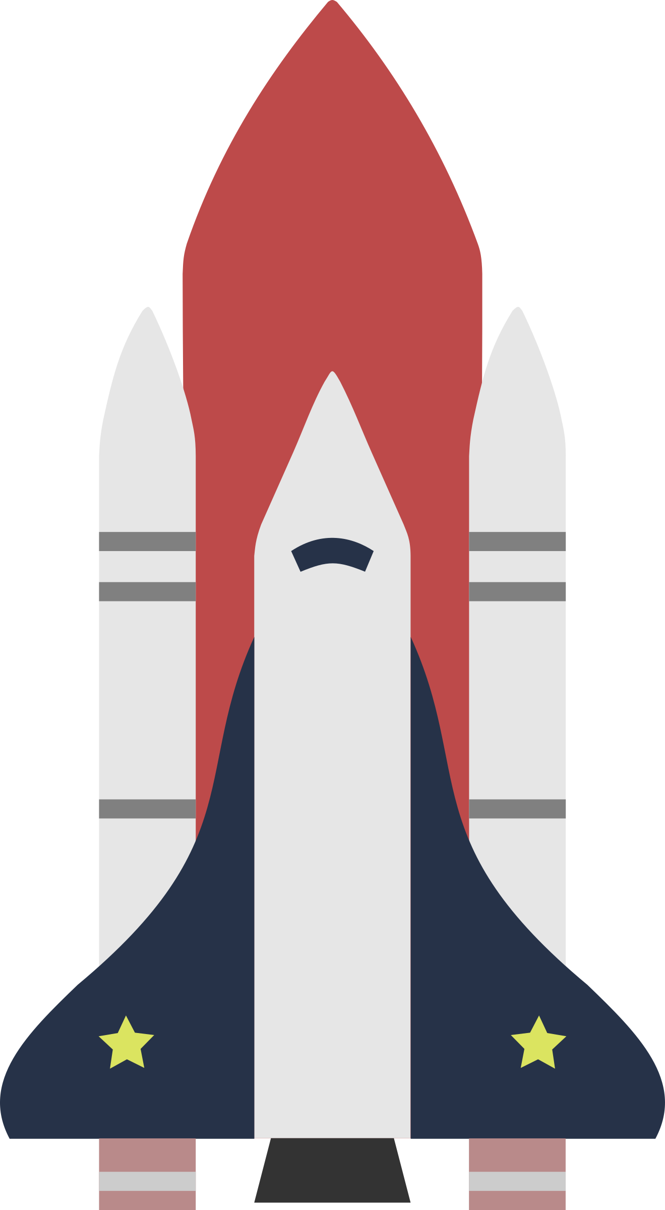 Space Shuttle by basicavisual