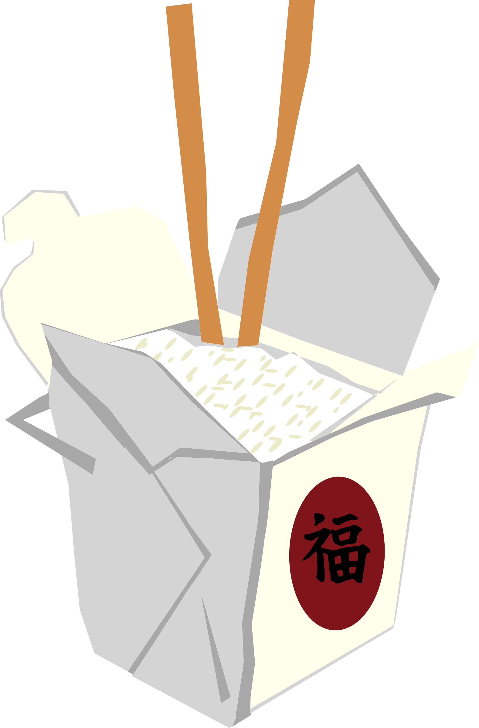 Chinese Take Out Box by oosabs