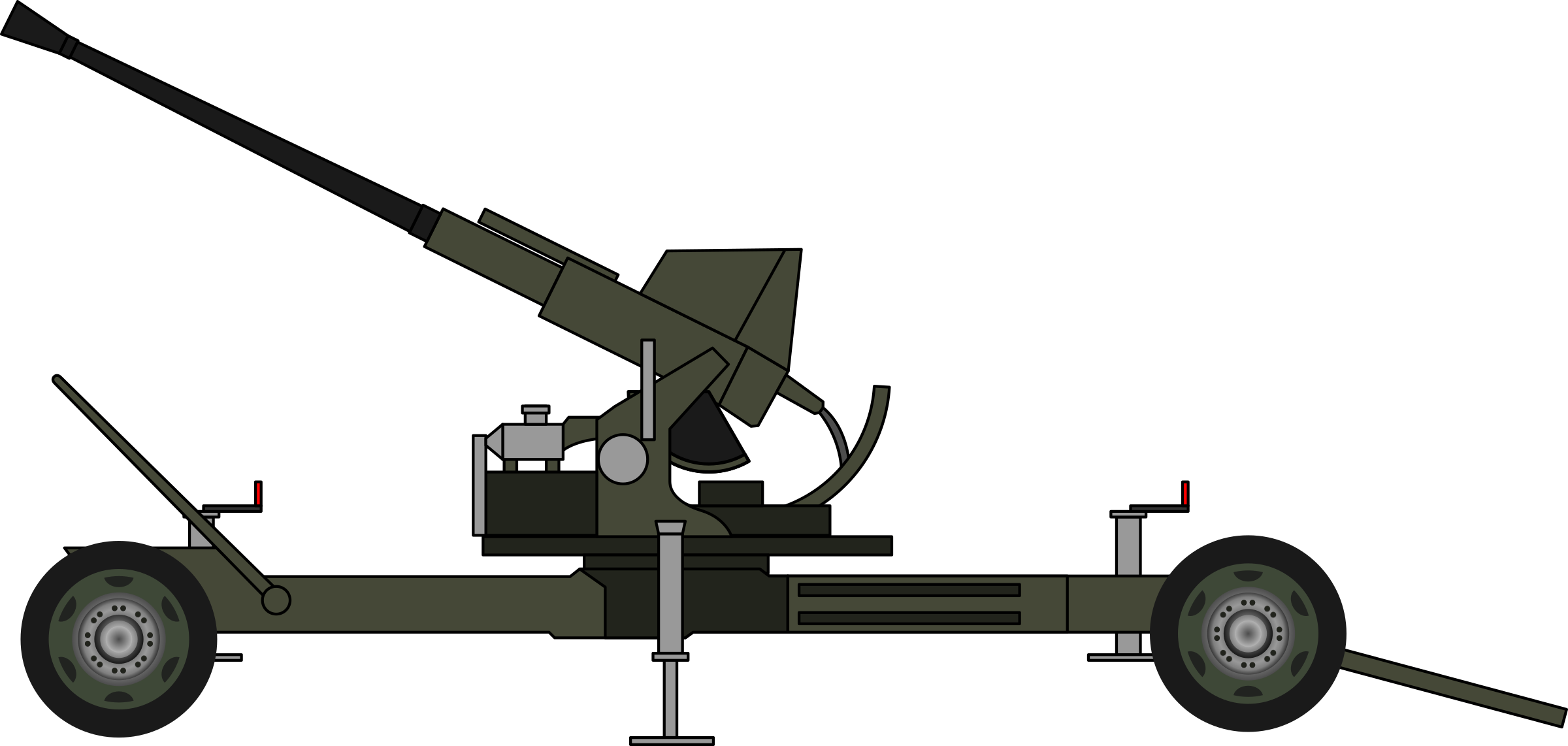 Bofors 40mm gun by derkommander0916