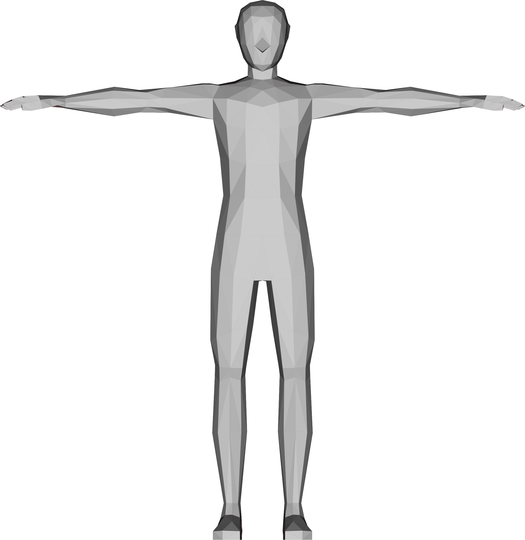 Low Poly Human Male by GDJ