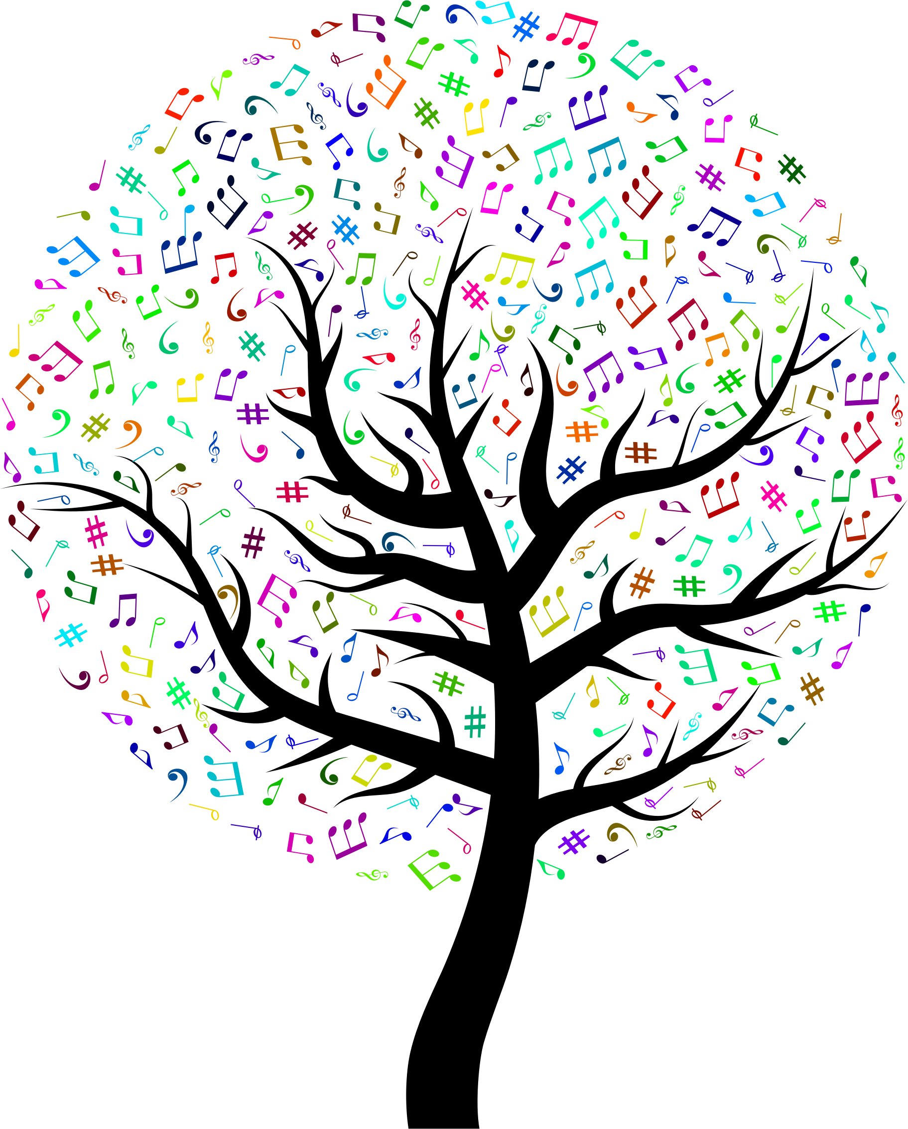 Prismatic Music Tree by GDJ
