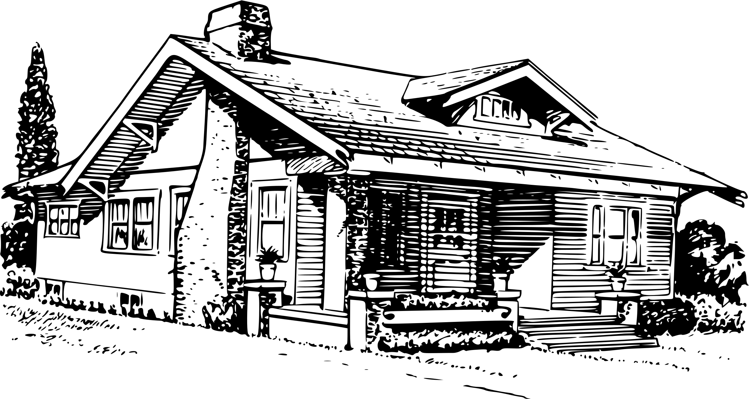 Clipart Bungalow