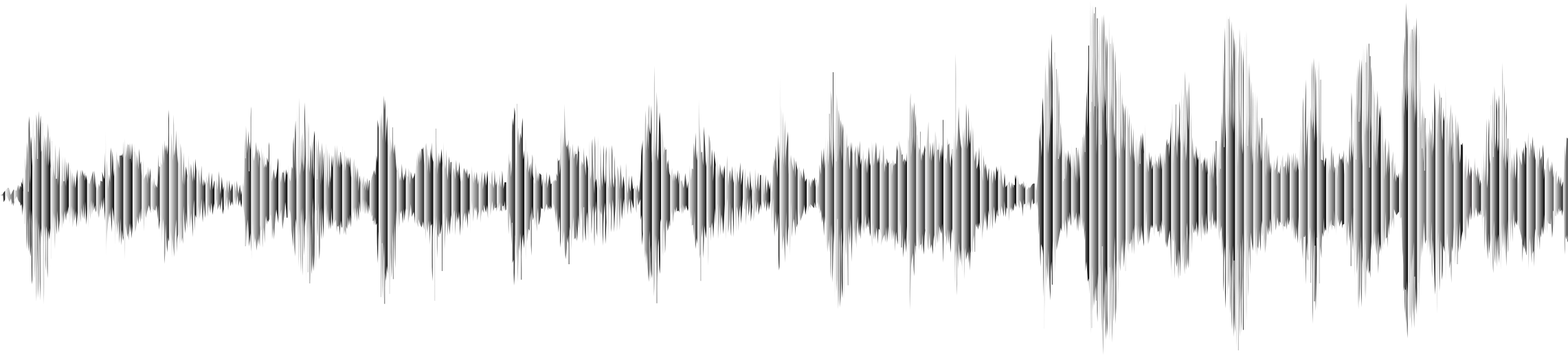 Monochrome Sound Wave by GDJ