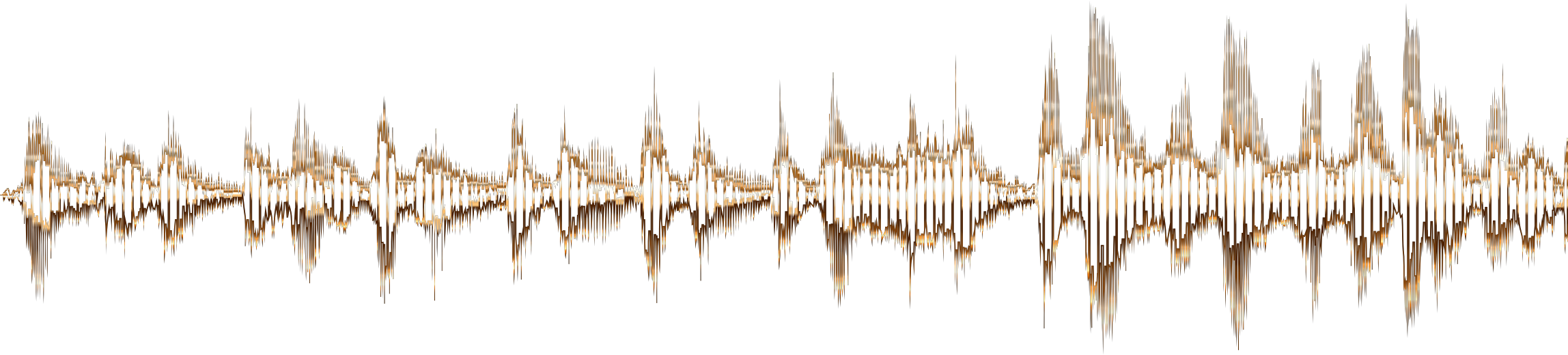 Clipart - City Of Gold Sound Wave No Background