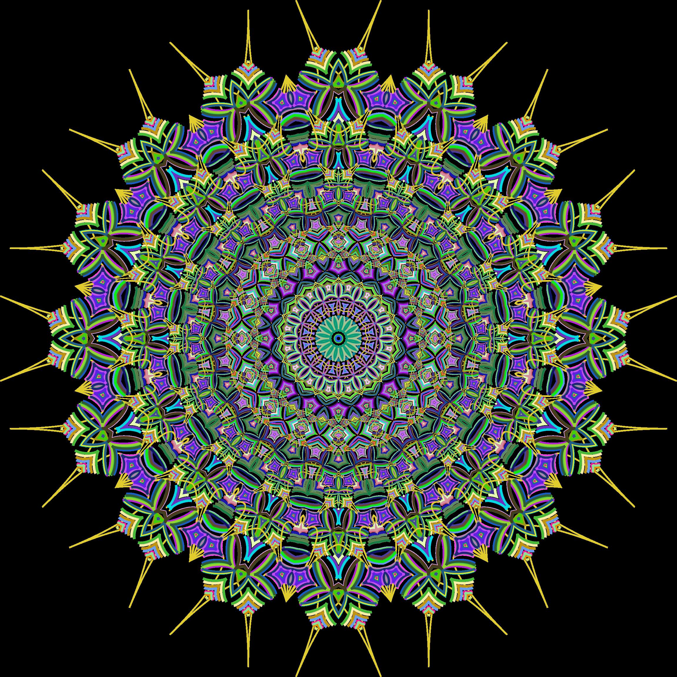 Line Art No Background : Clipart prismatic mandala line art no background