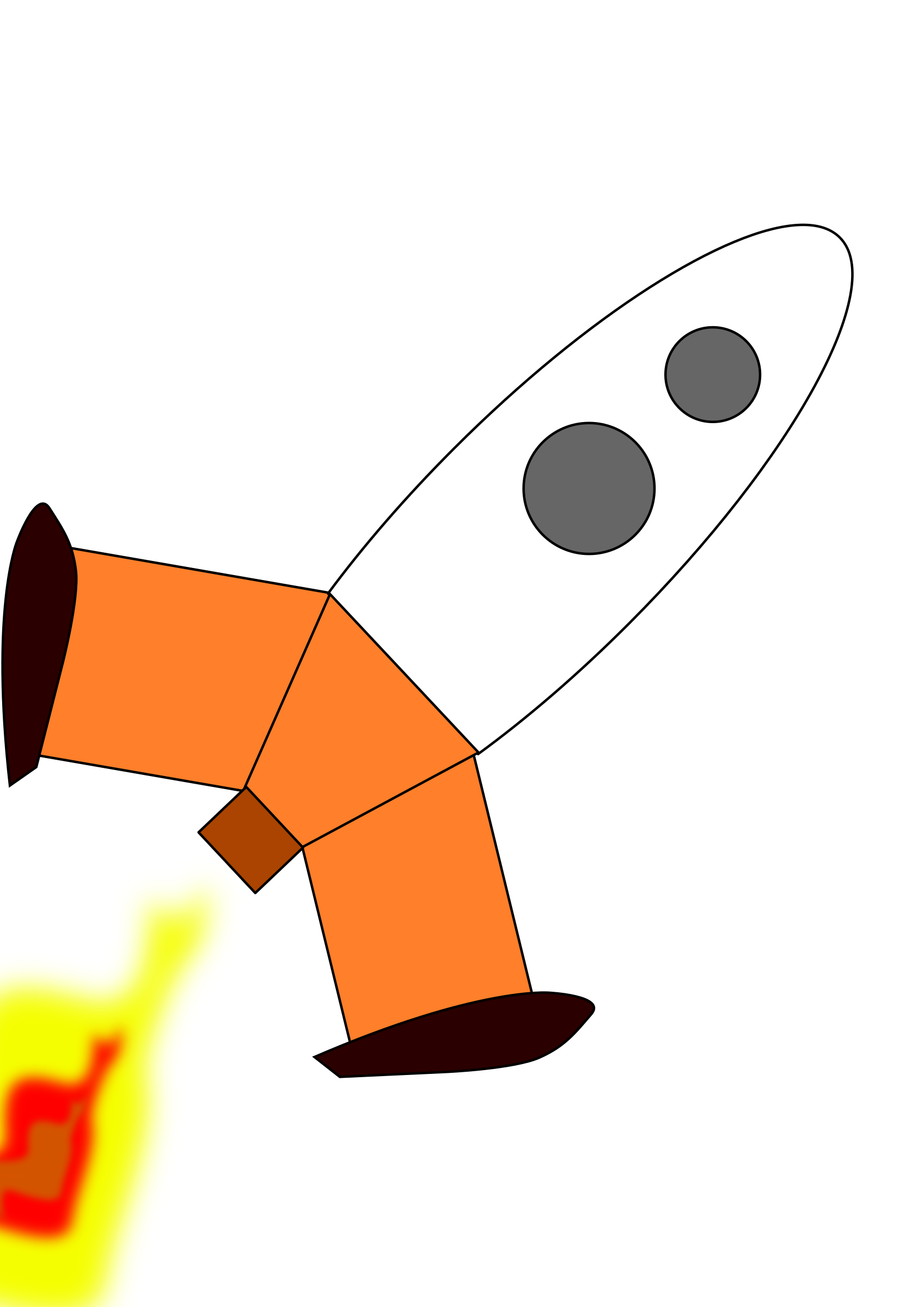 rocket ship by evelyn23