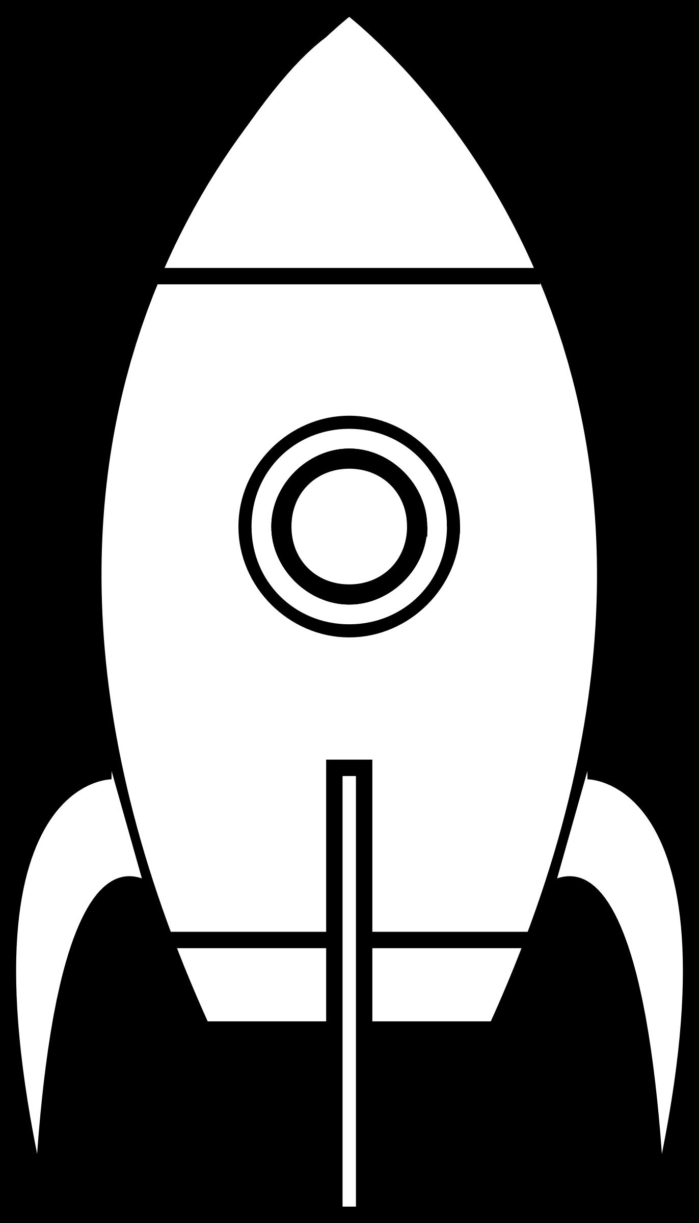 clipart cartoon moon rocket remix 4