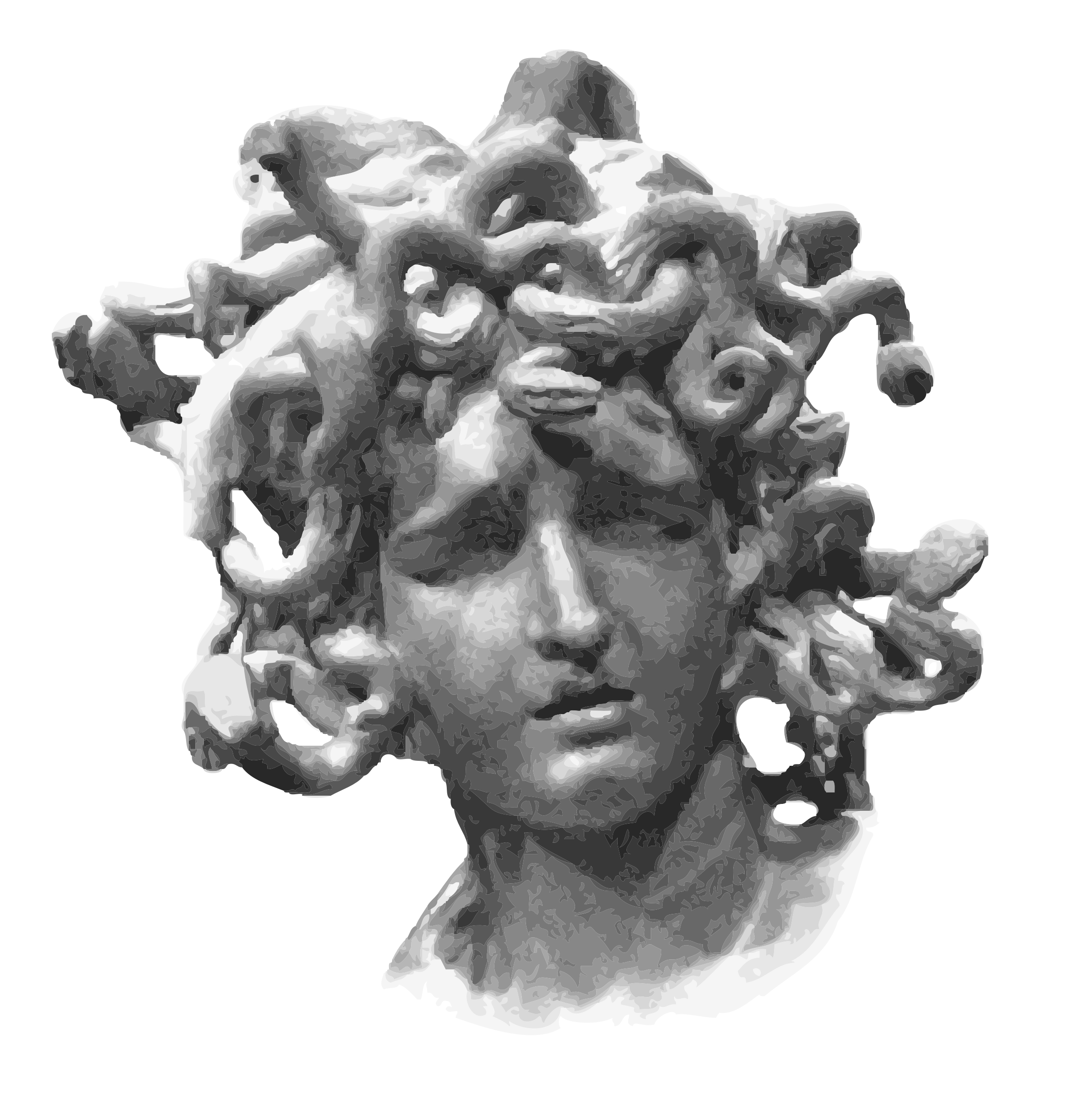 Medusa Head by microcosme