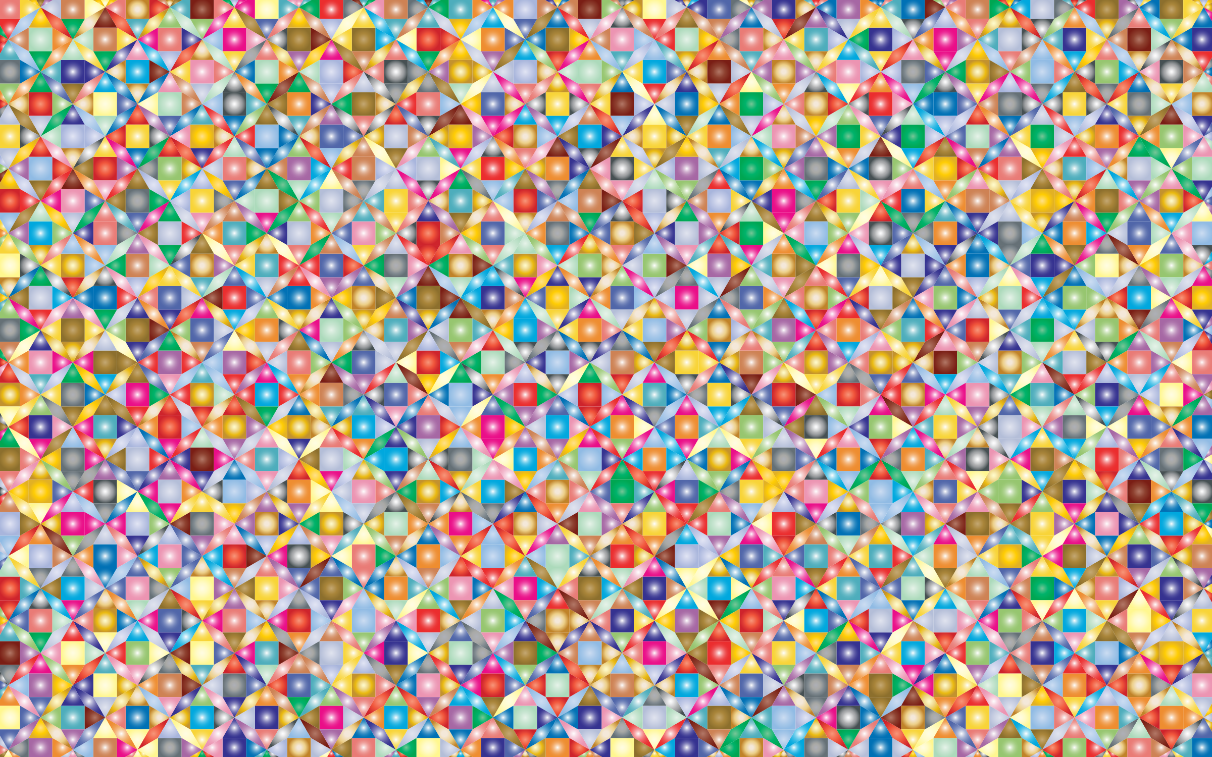 Prismatic Geometric Pattern 2 by GDJ