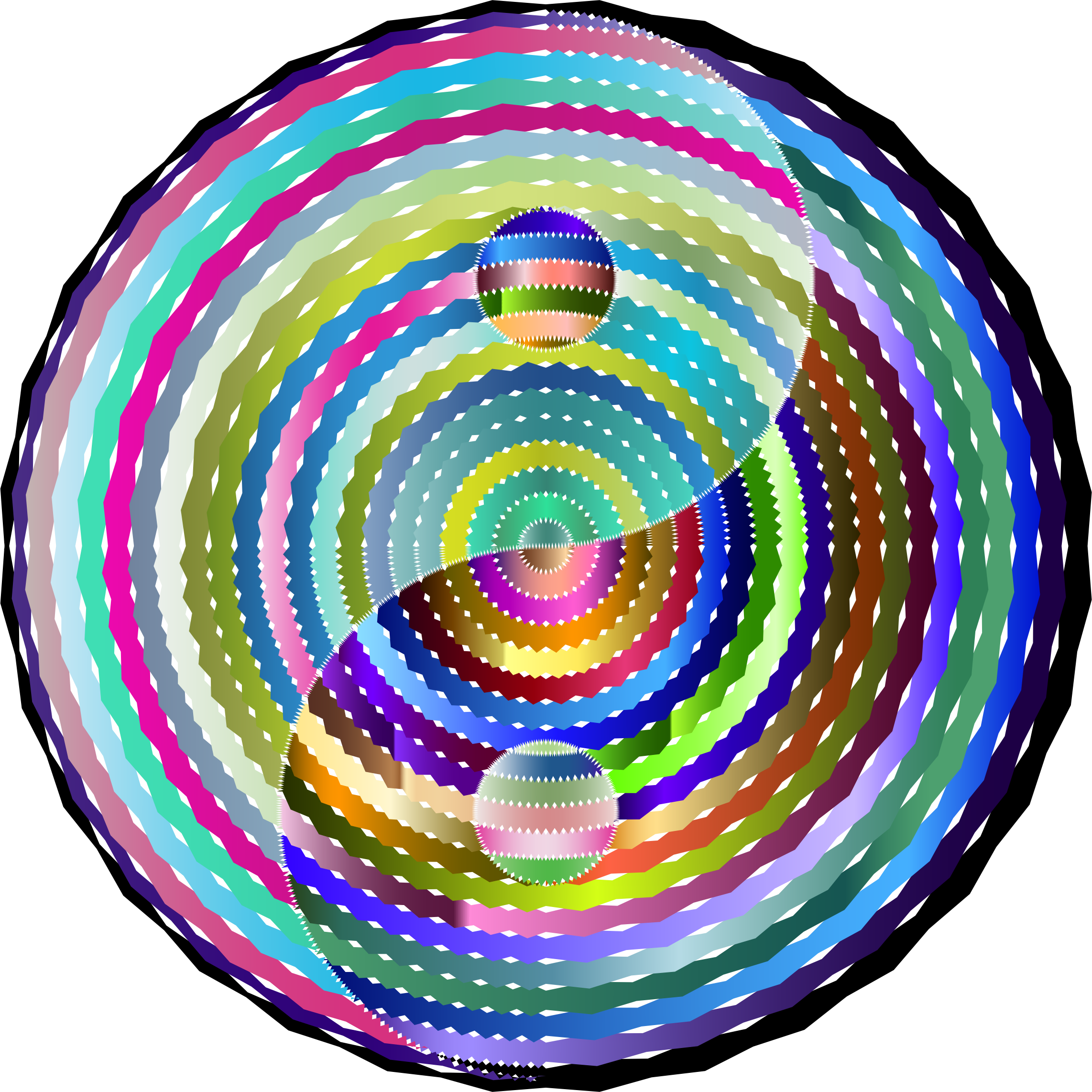 Disco Concentric Yin Yang by GDJ
