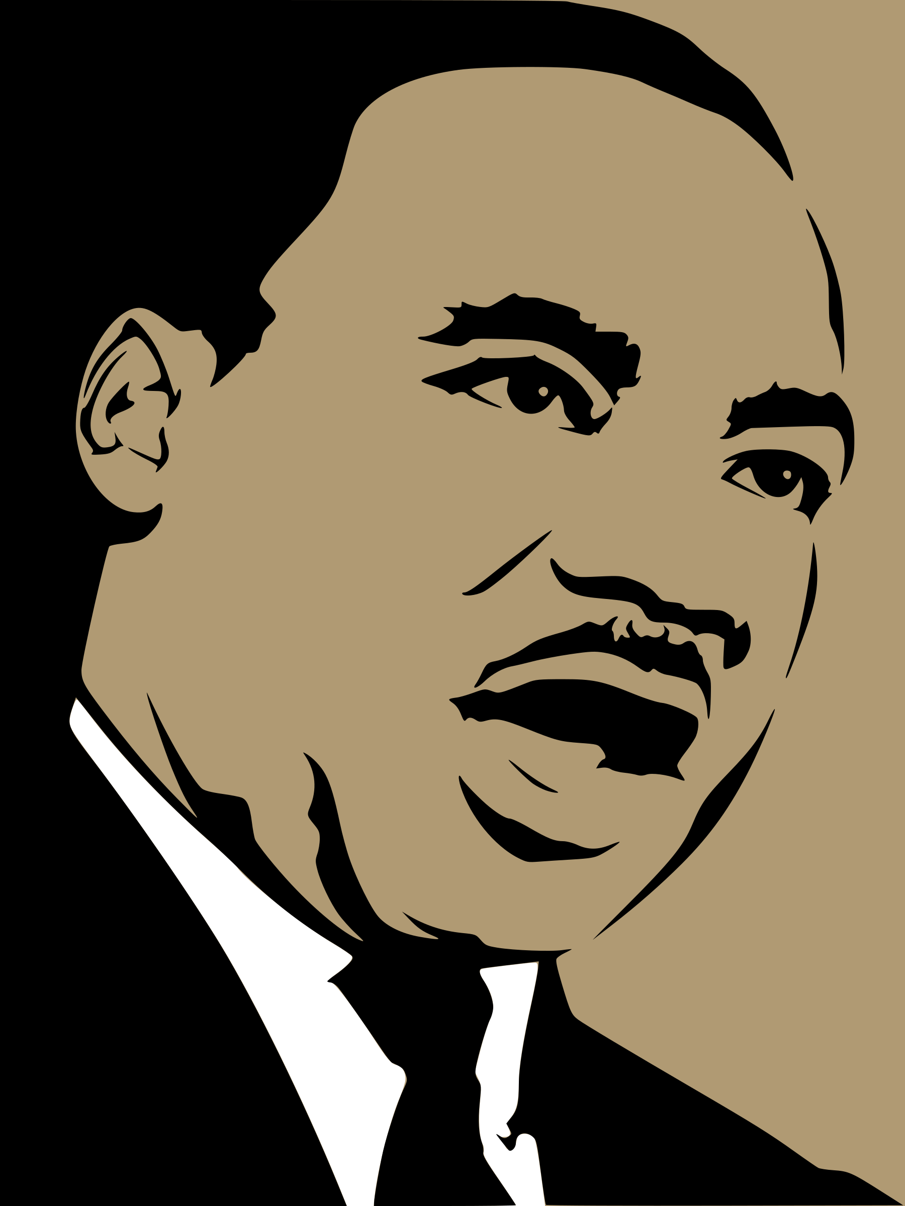 Martin Luther King by suthir