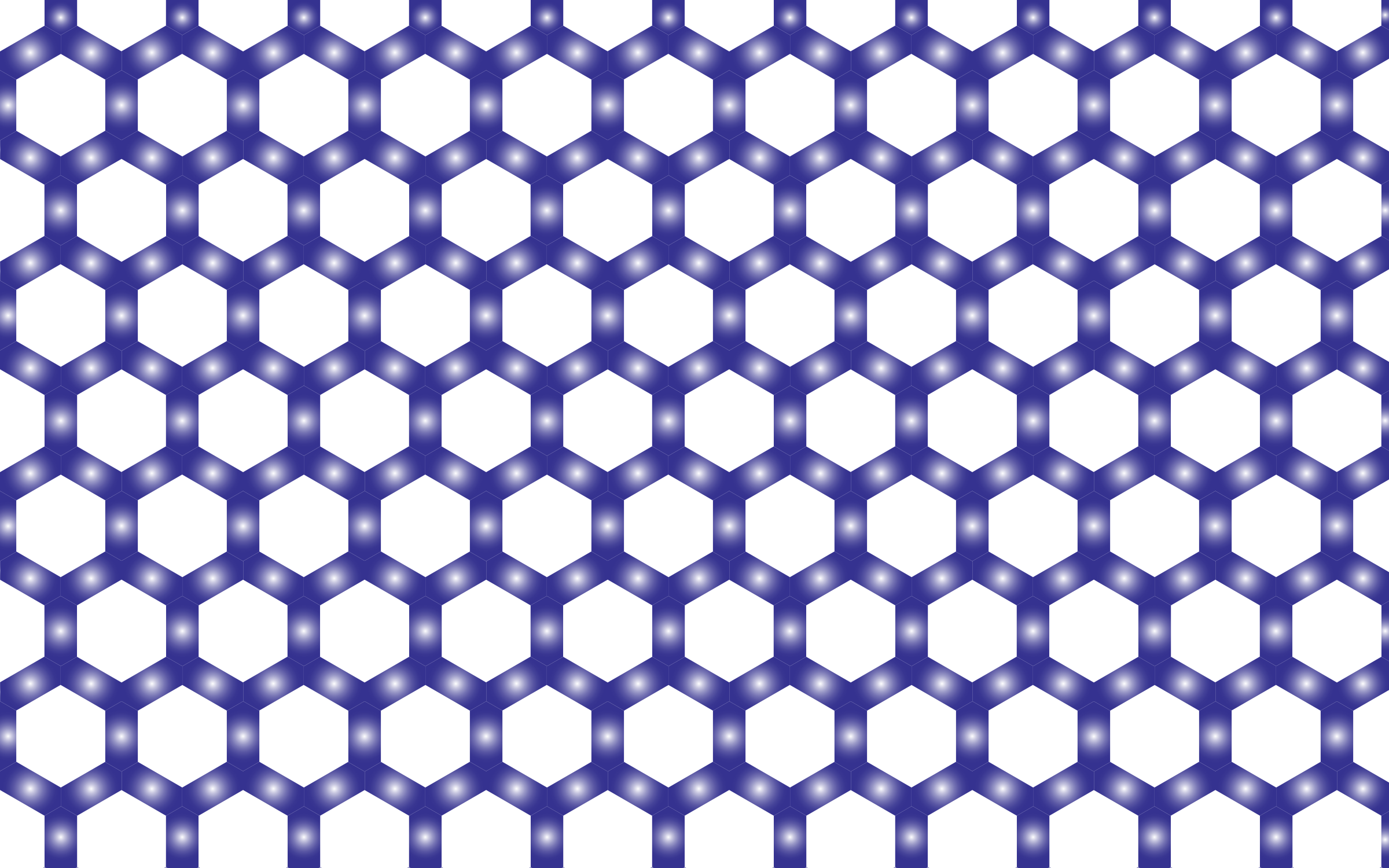 Prismatic Hexagonal Geometric Pattern 8 No Background by GDJ