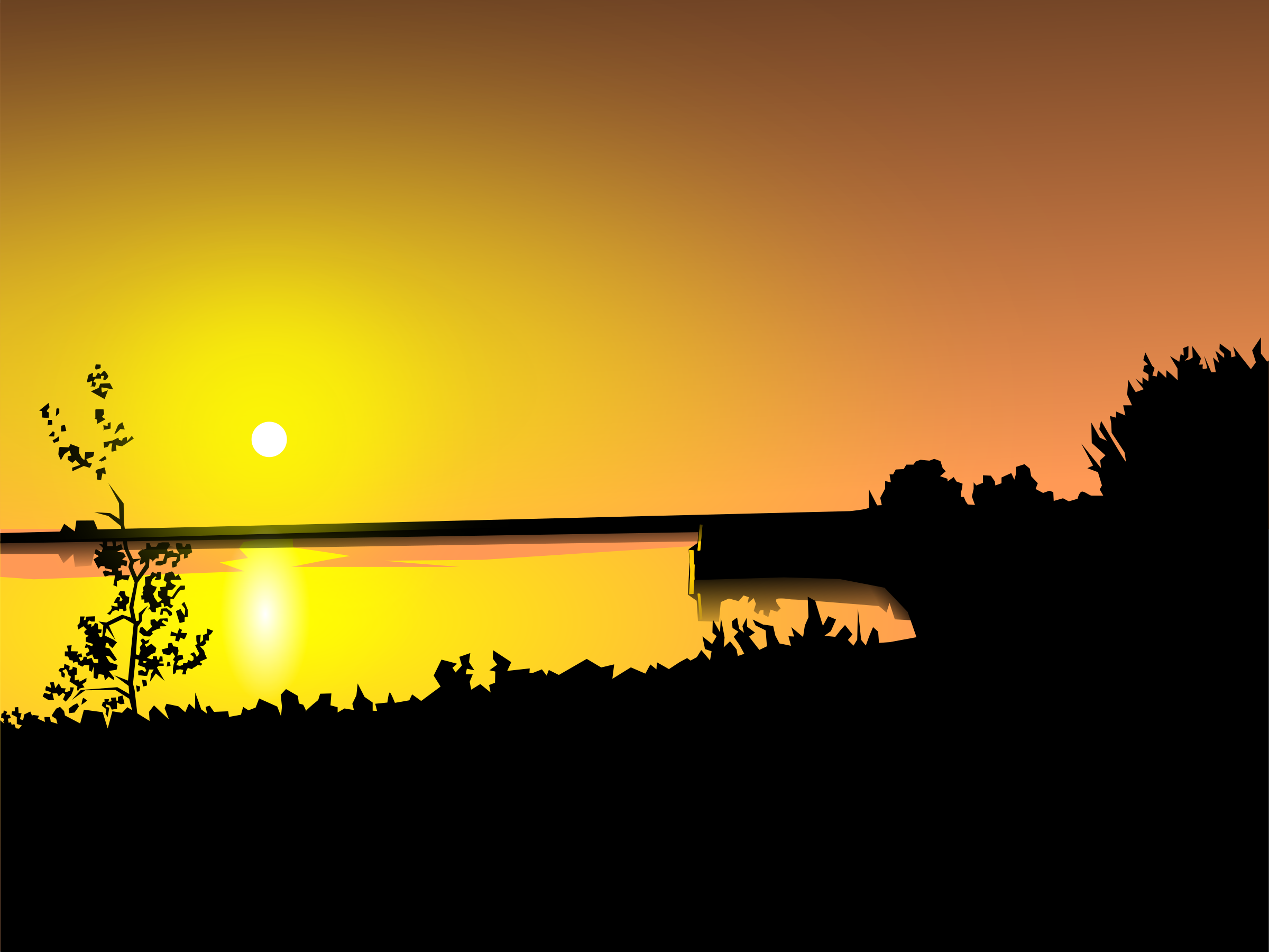 sunset by hakim