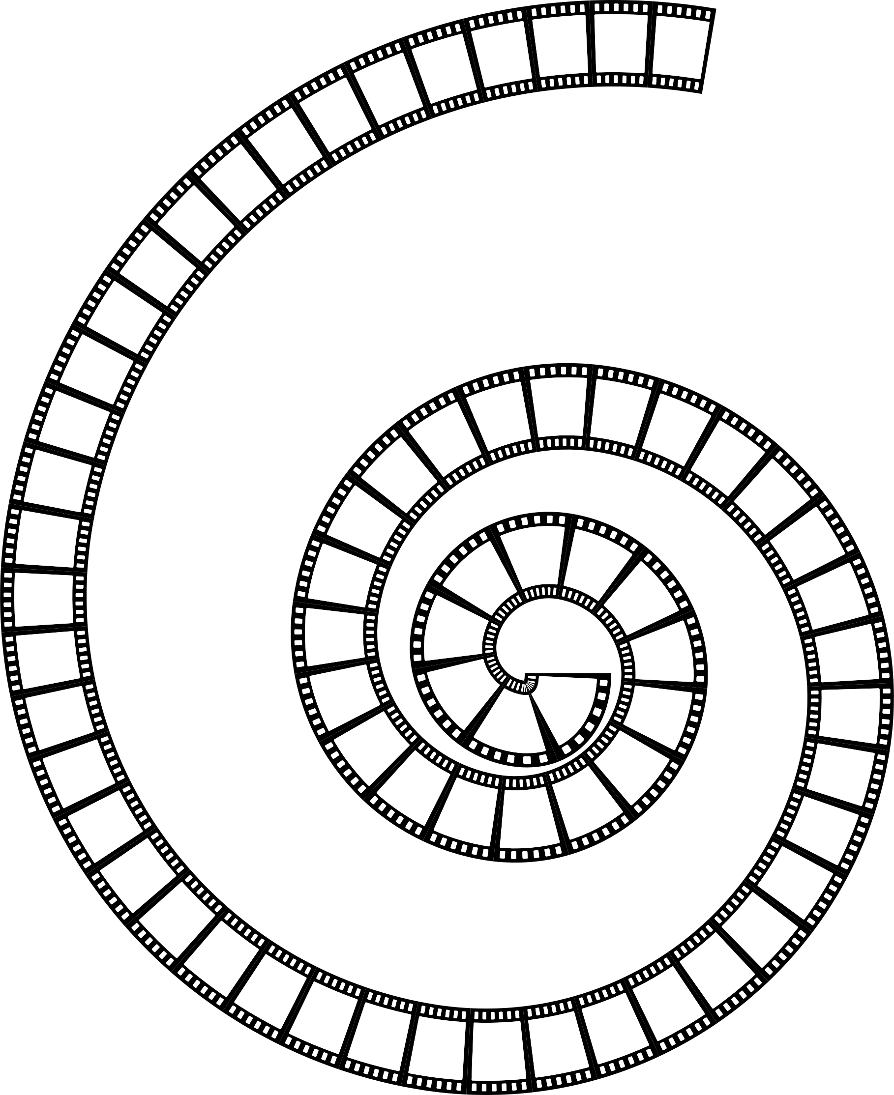 Film Strip Spiral by GDJ
