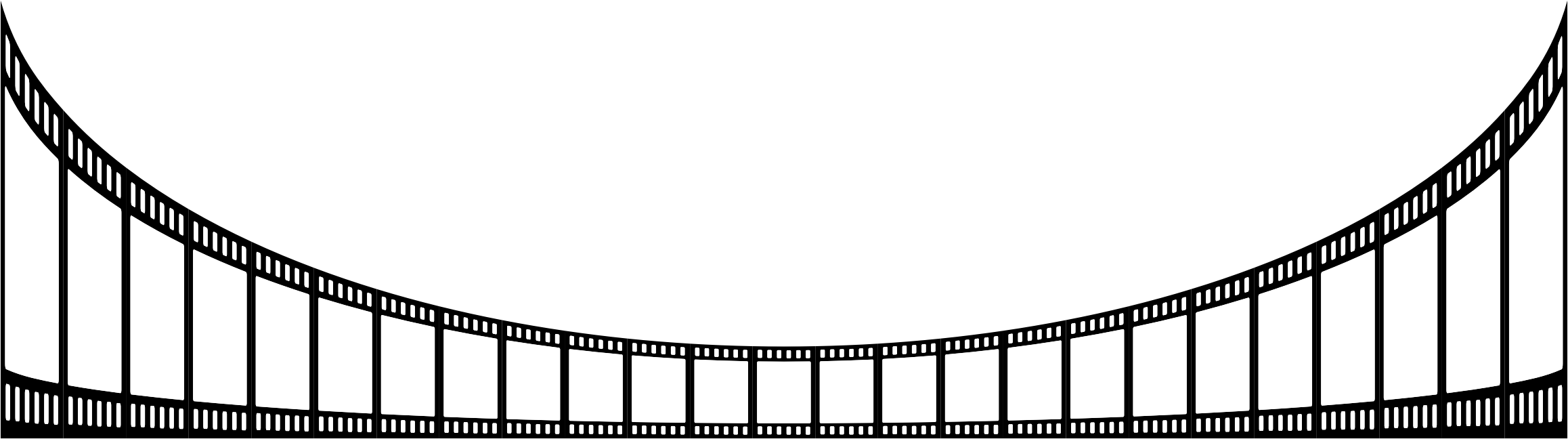 Clipart - Film Strip Perspective 7