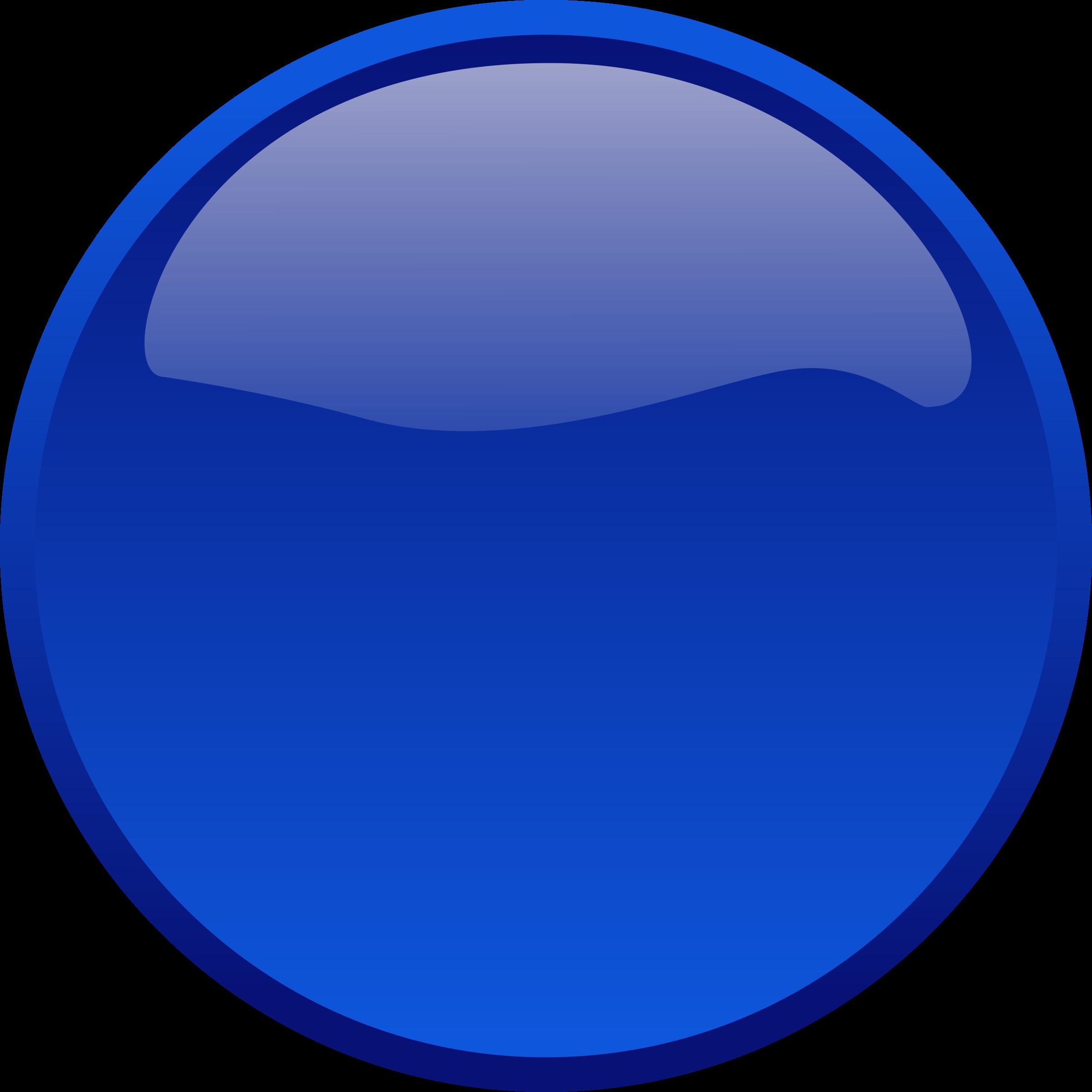 Clipart - Button Blue