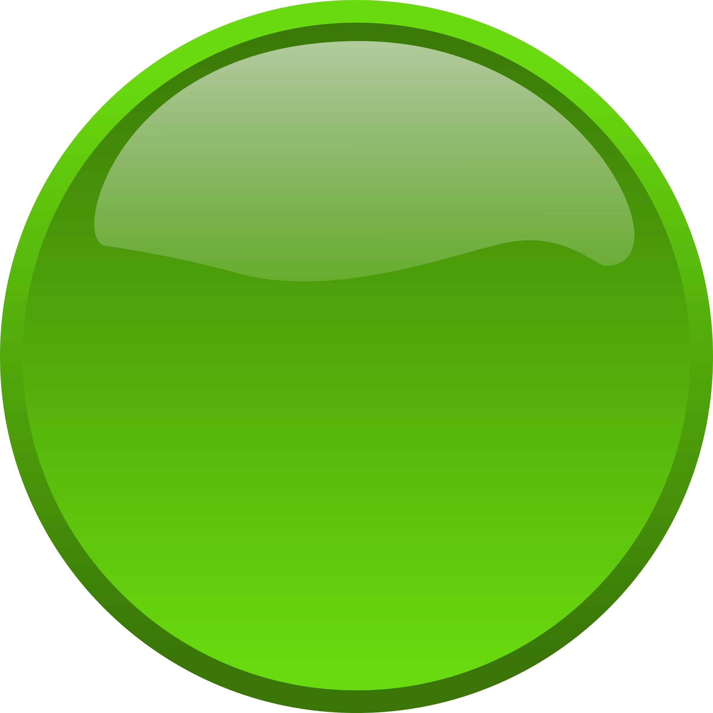 Green Circle Outline Button green 4380Green Circle Outline