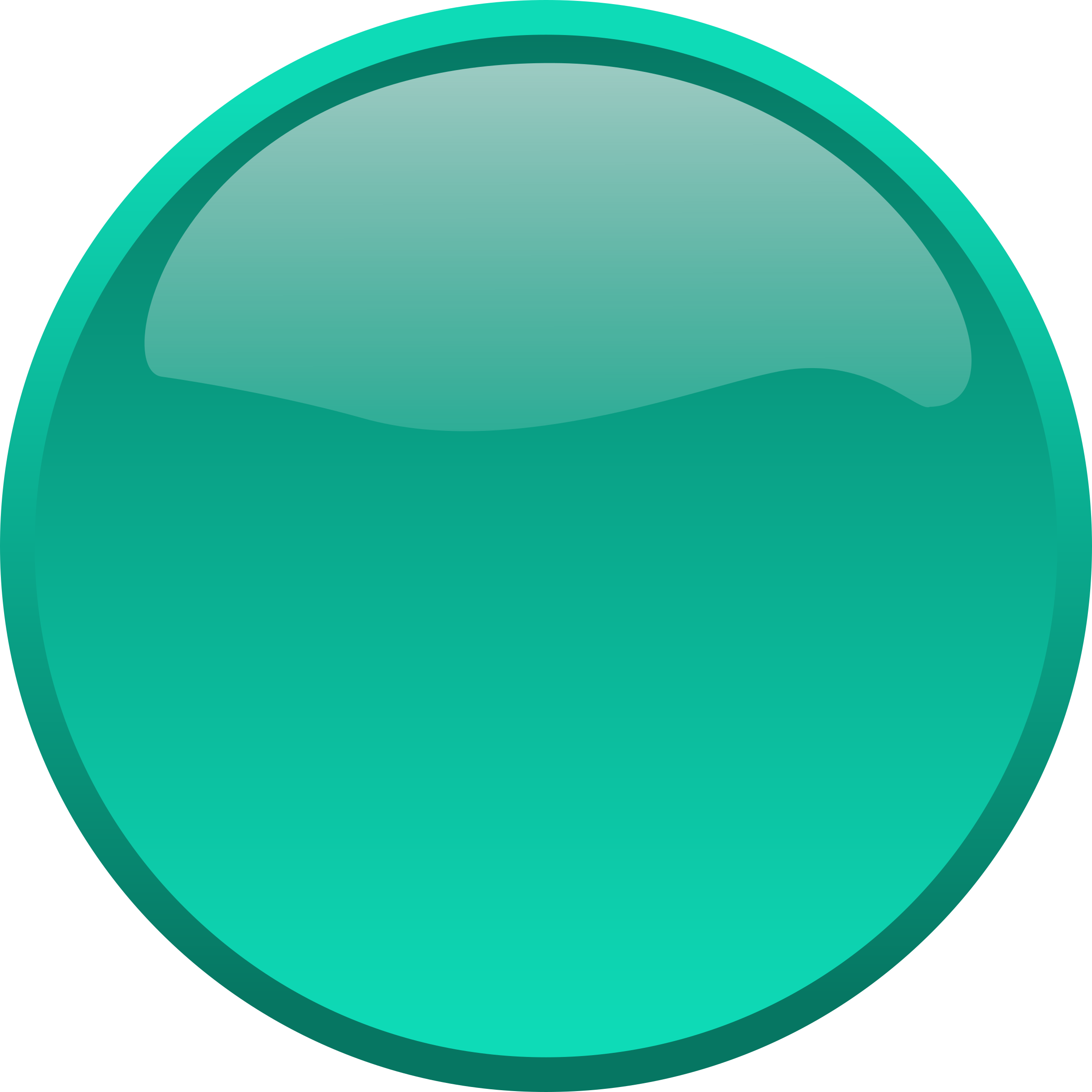 Button Cyan by bpcomp