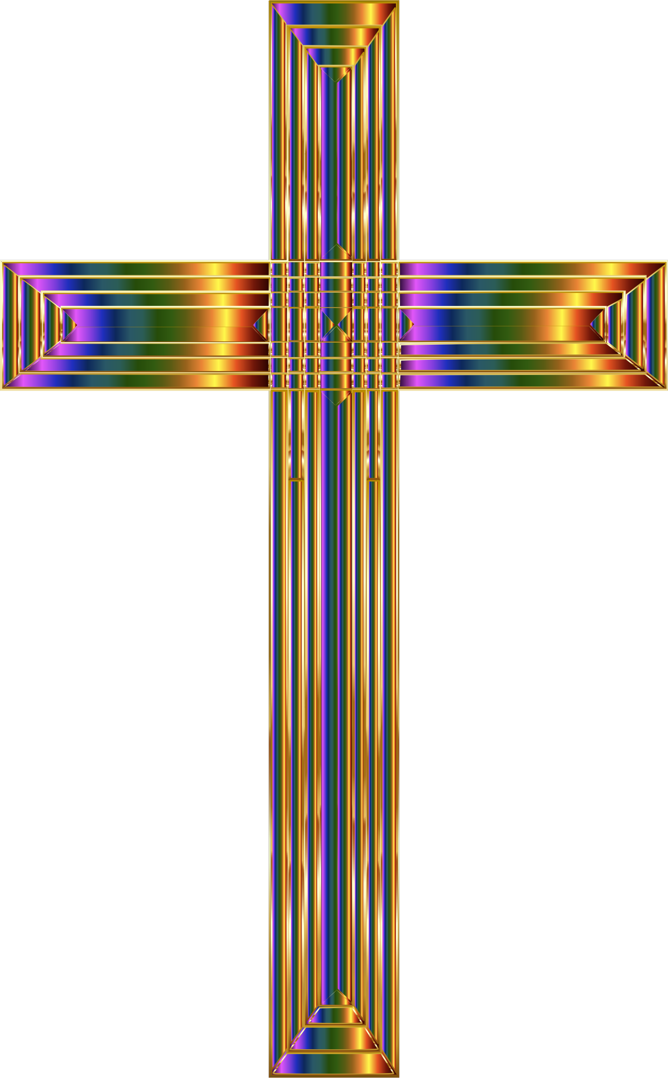 Prismatic Cross by GDJ
