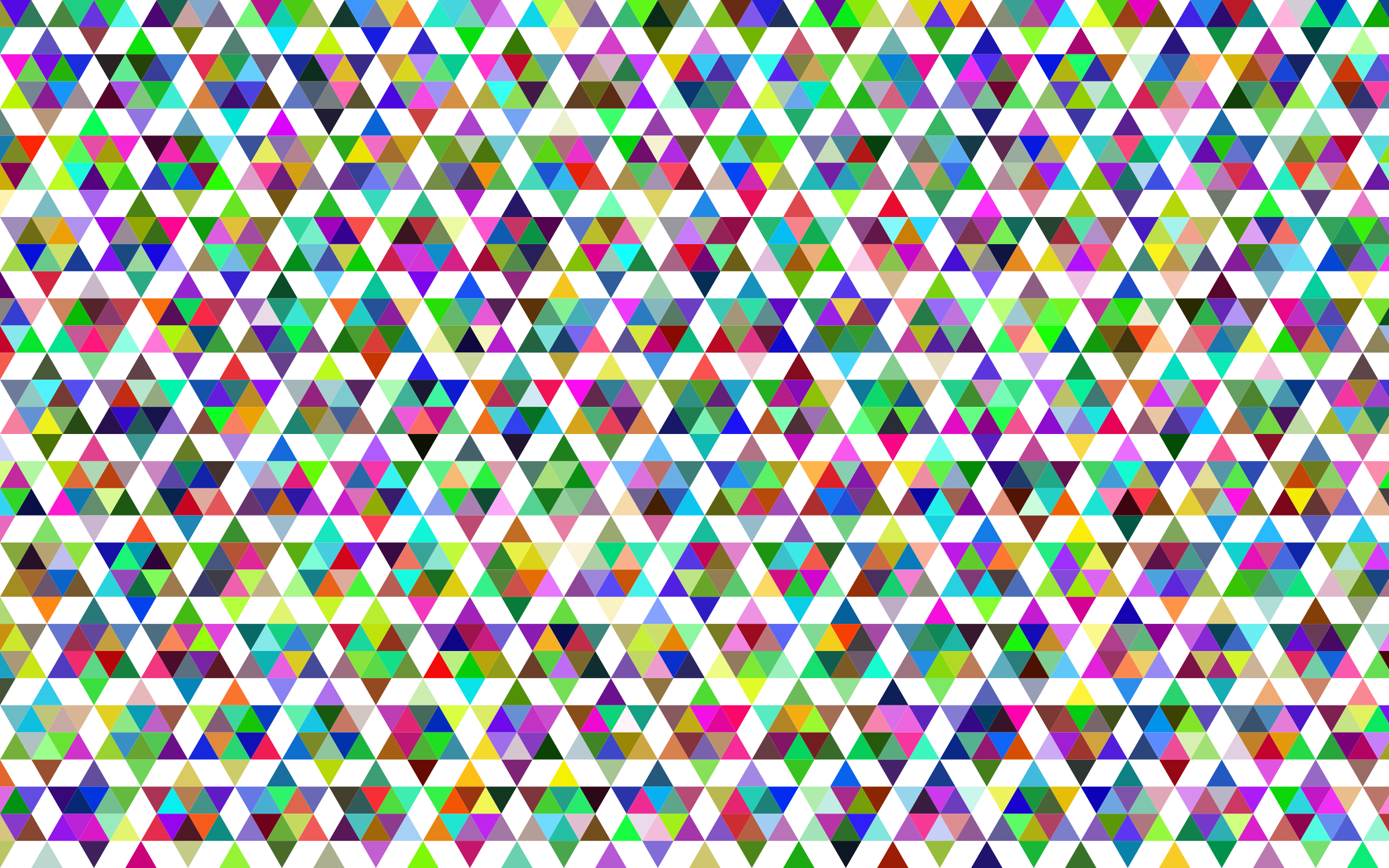 Prismatic Geometric Pattern by GDJ