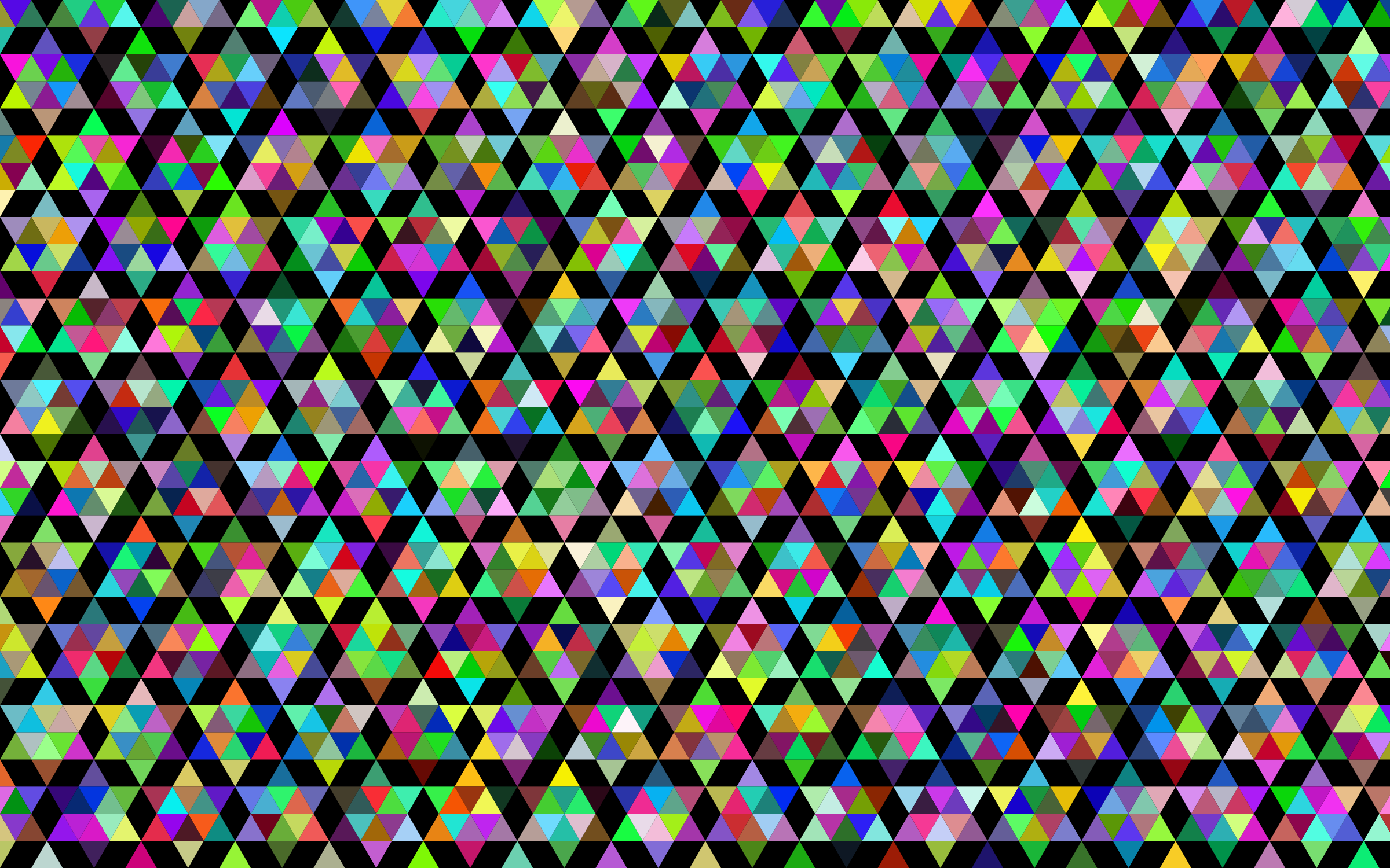 Prismatic Geometric Pattern With Background by GDJ