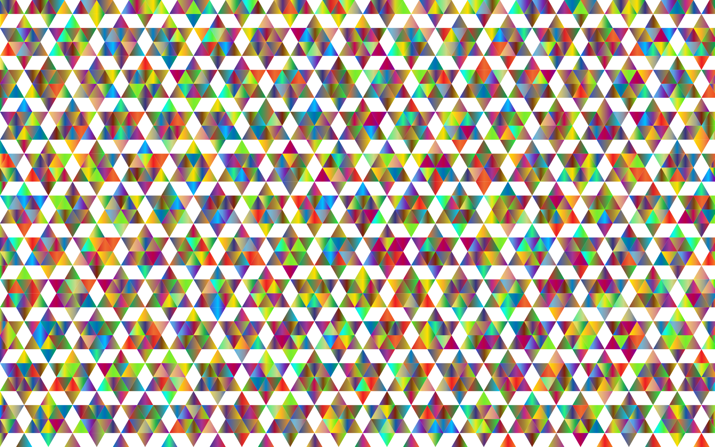 Prismatic Geometric Pattern Variation 2 by GDJ