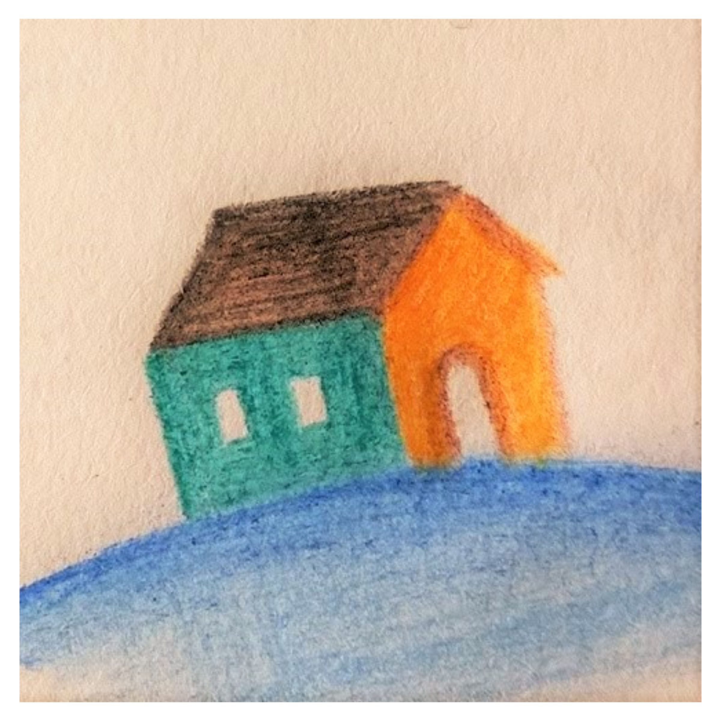 Painted Small Home (untraced)  by oldifluff