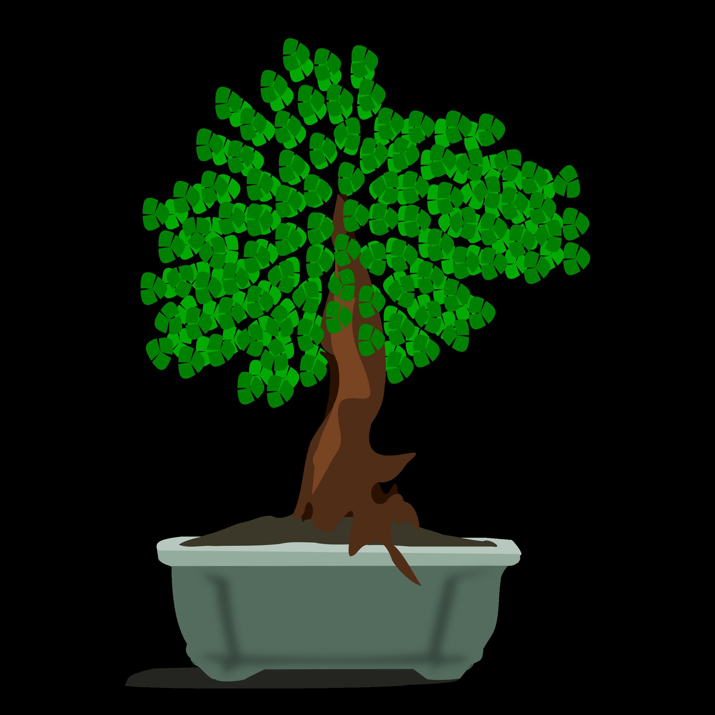 Clipart - bonsai-12 Bonsai Tree Clipart