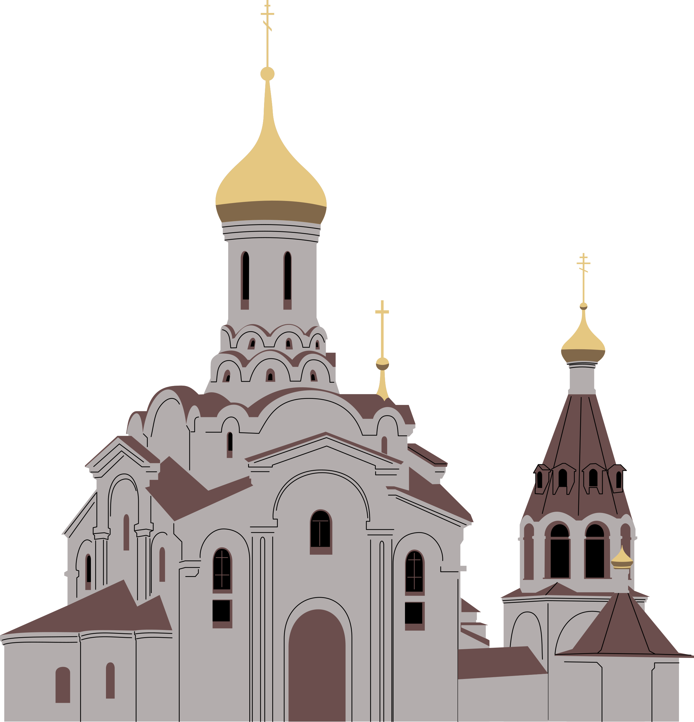 Orthodoxal cathedral 2 by Rones by rones