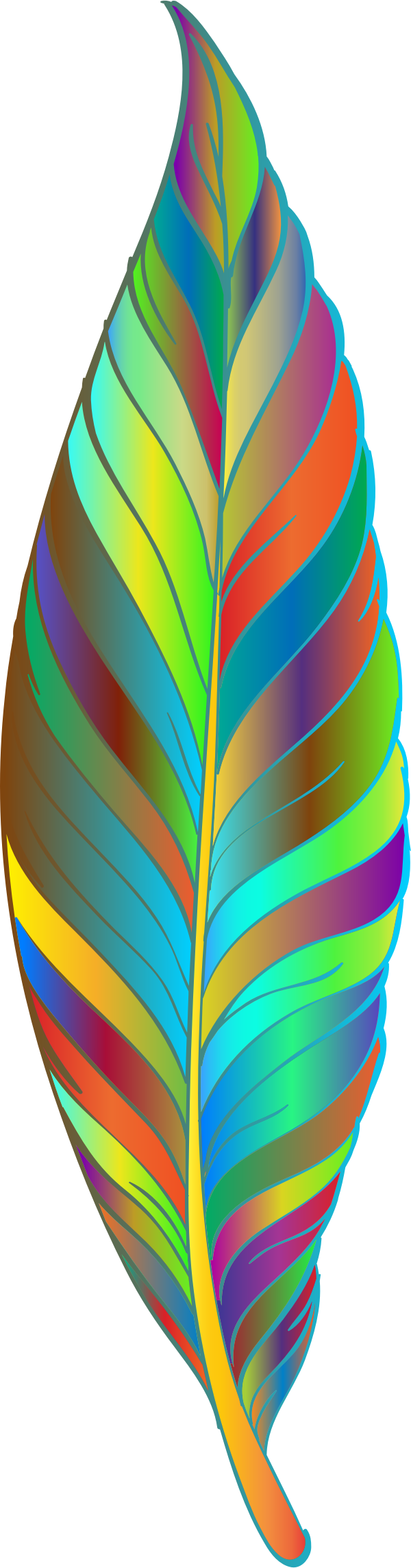 Prismatic Feather 3 by GDJ