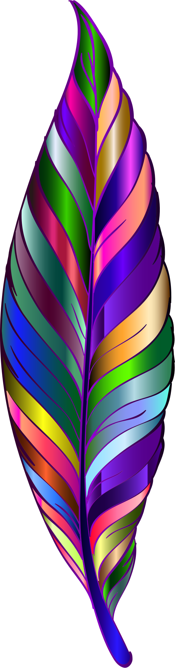 Prismatic Feather 6 by GDJ