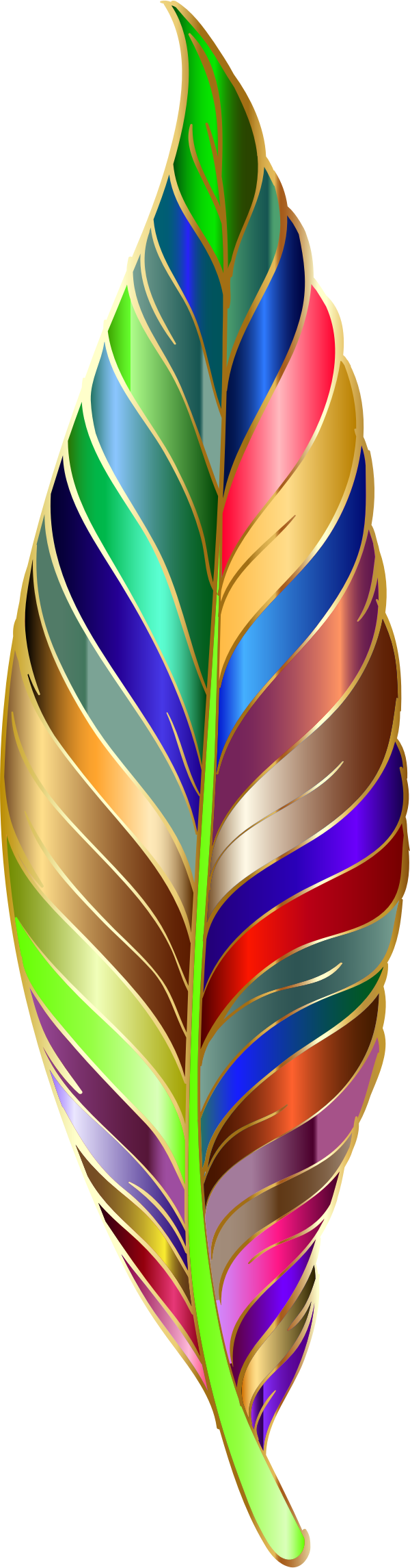 Prismatic Feather 7 by GDJ