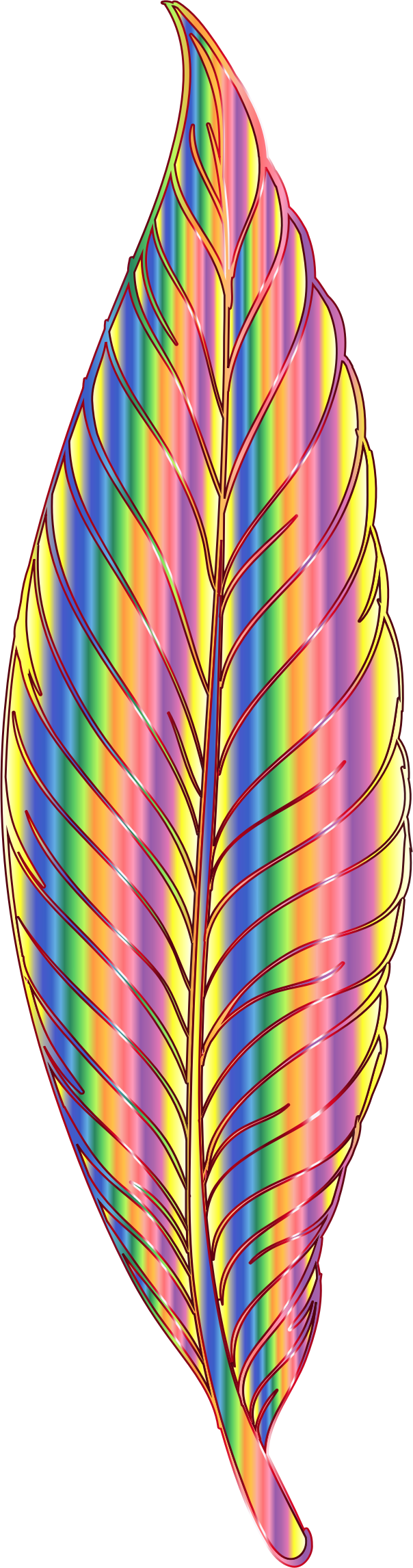 Chromatic Feather by GDJ