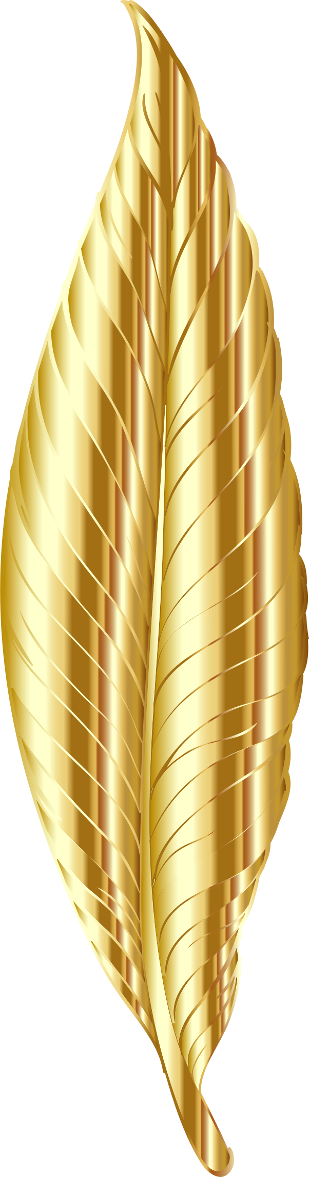 Gold Feather by GDJ