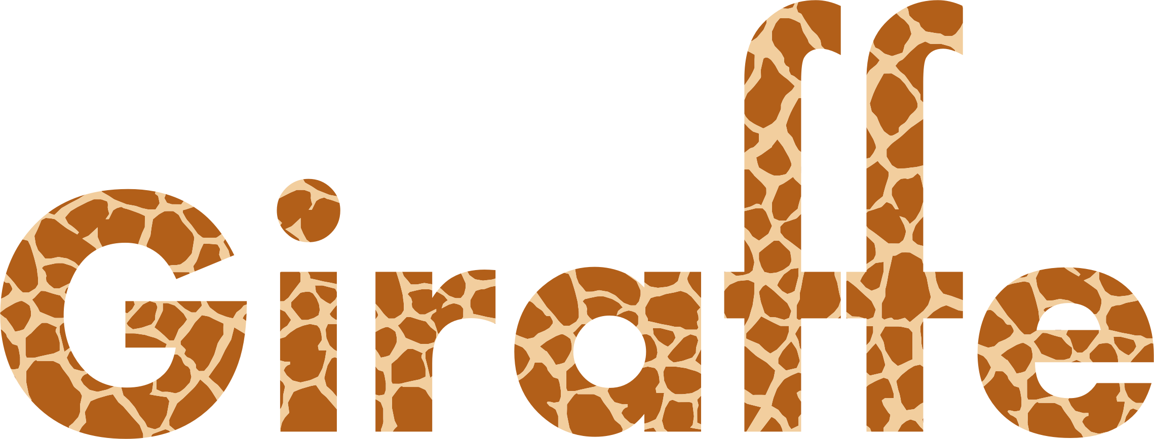 Giraffe Typography by GDJ