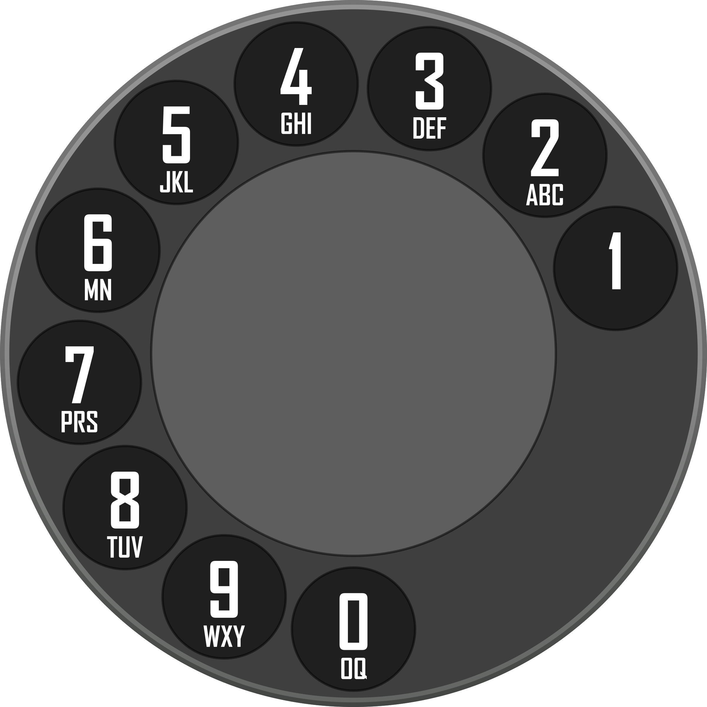 Rotary Dialer by sergeybe