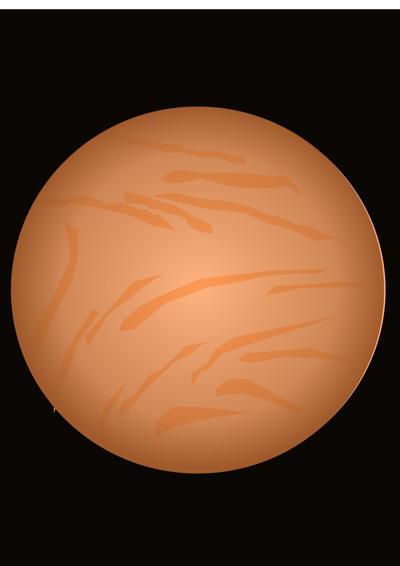 Planet Venus by jhonwask