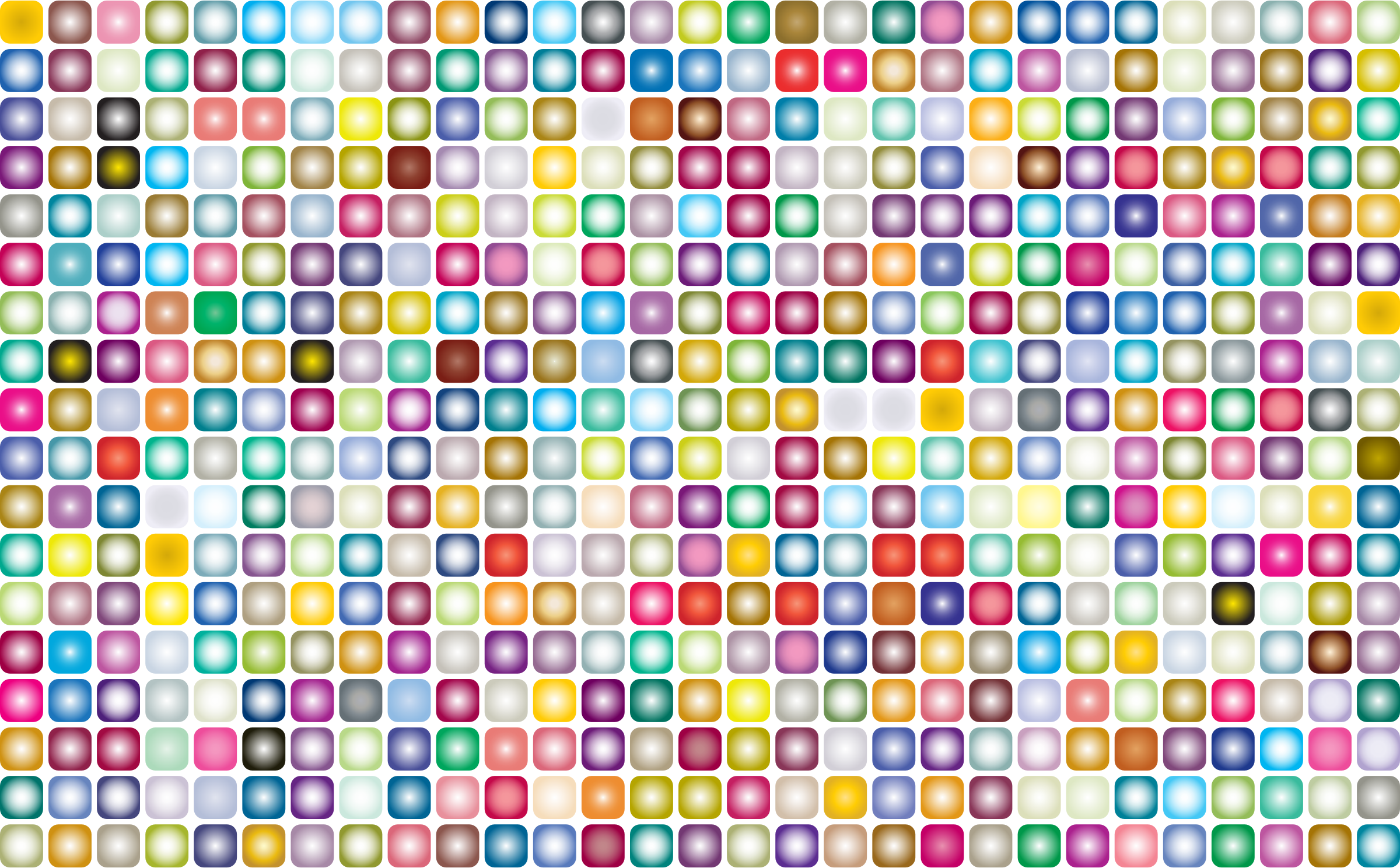 Prismatic Rounded Squares Grid 2 by GDJ