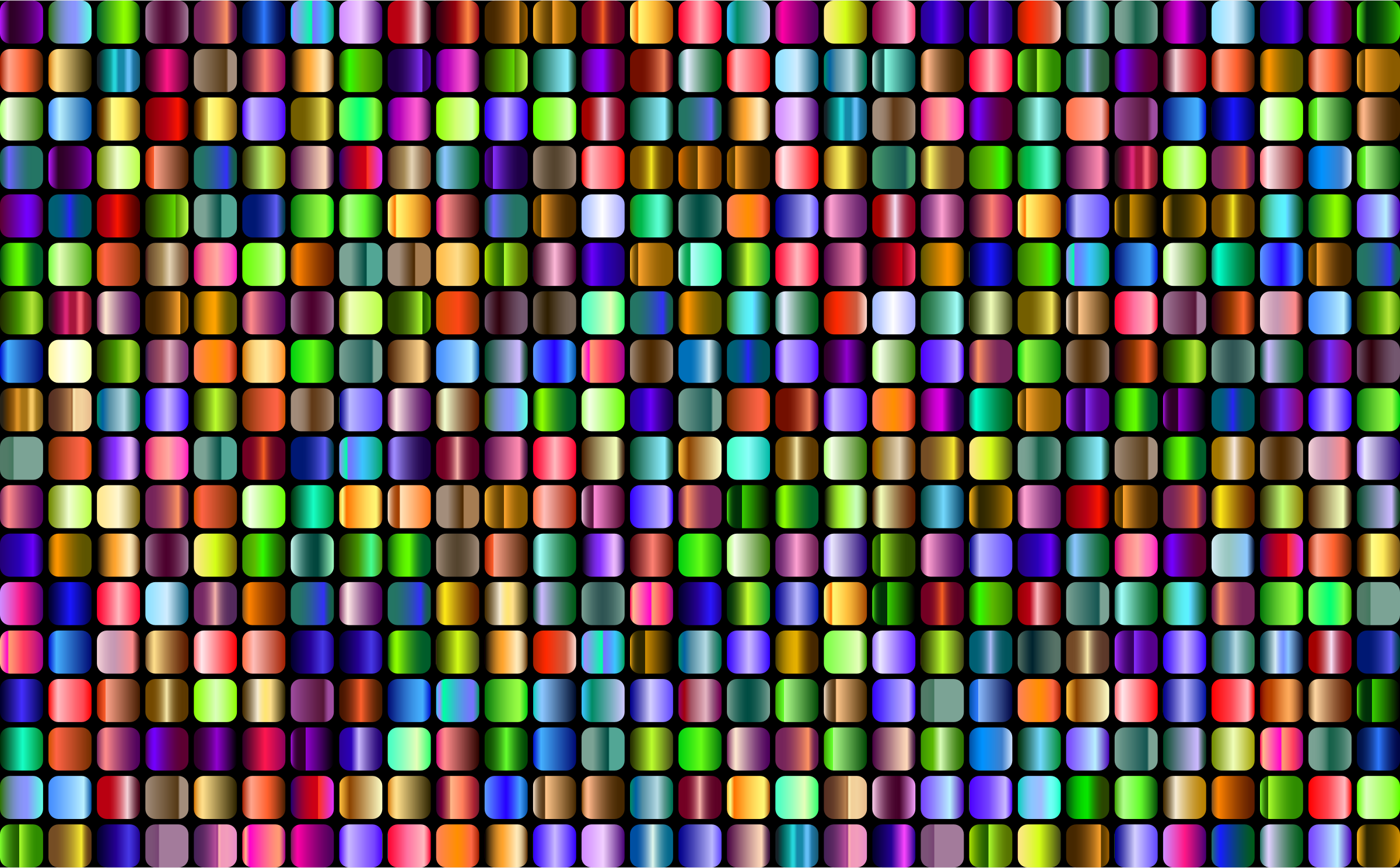 Prismatic Rounded Squares Grid 4 by GDJ