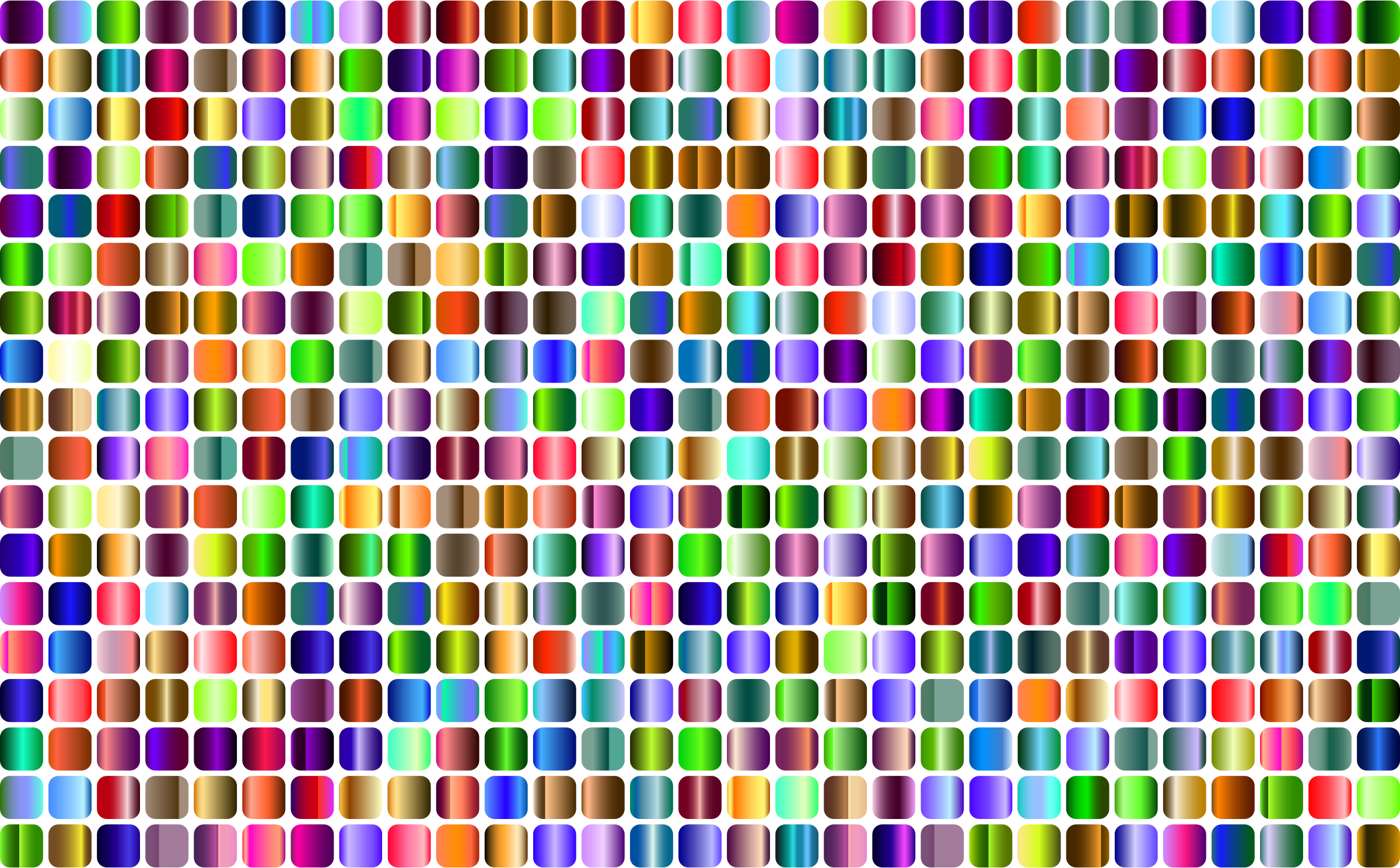 Prismatic Rounded Squares Grid 4 No Background by GDJ