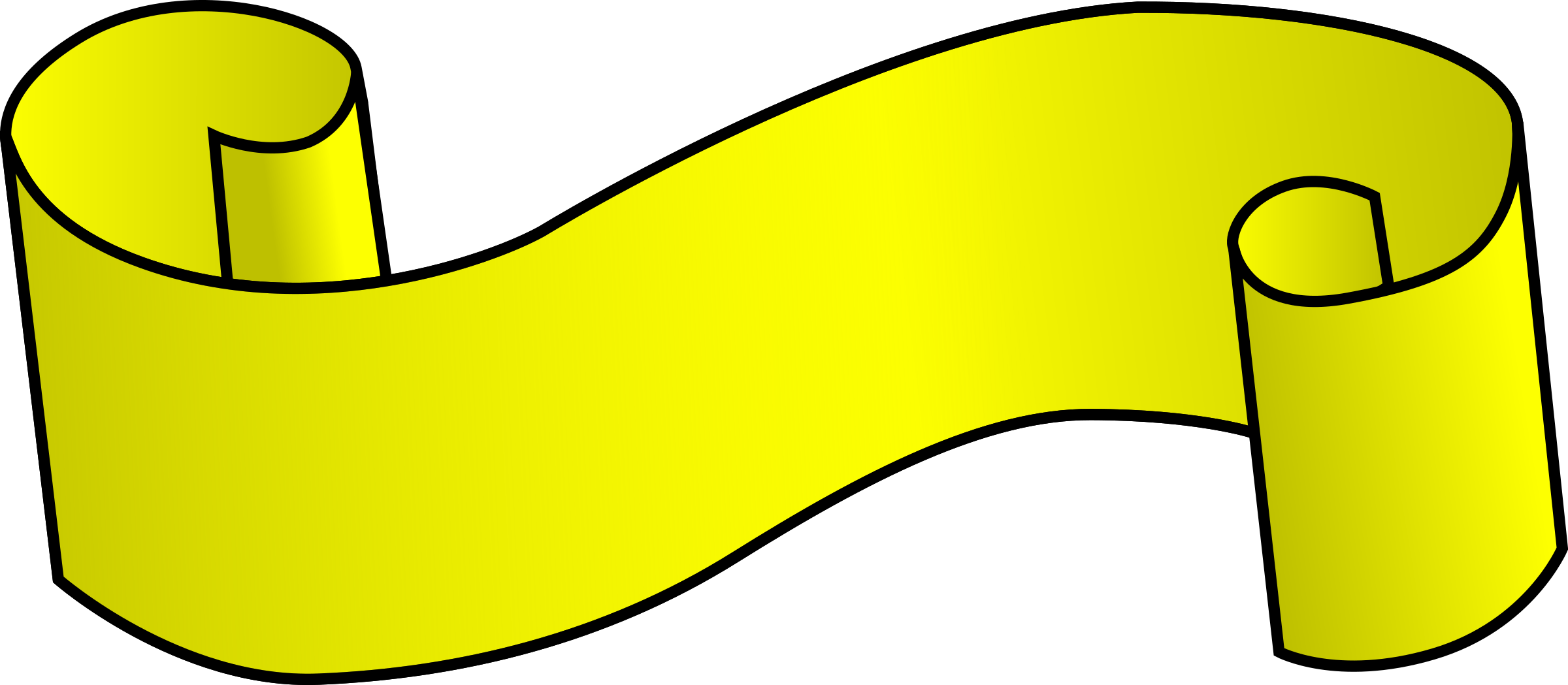 Yellow Ribbon by bpcomp