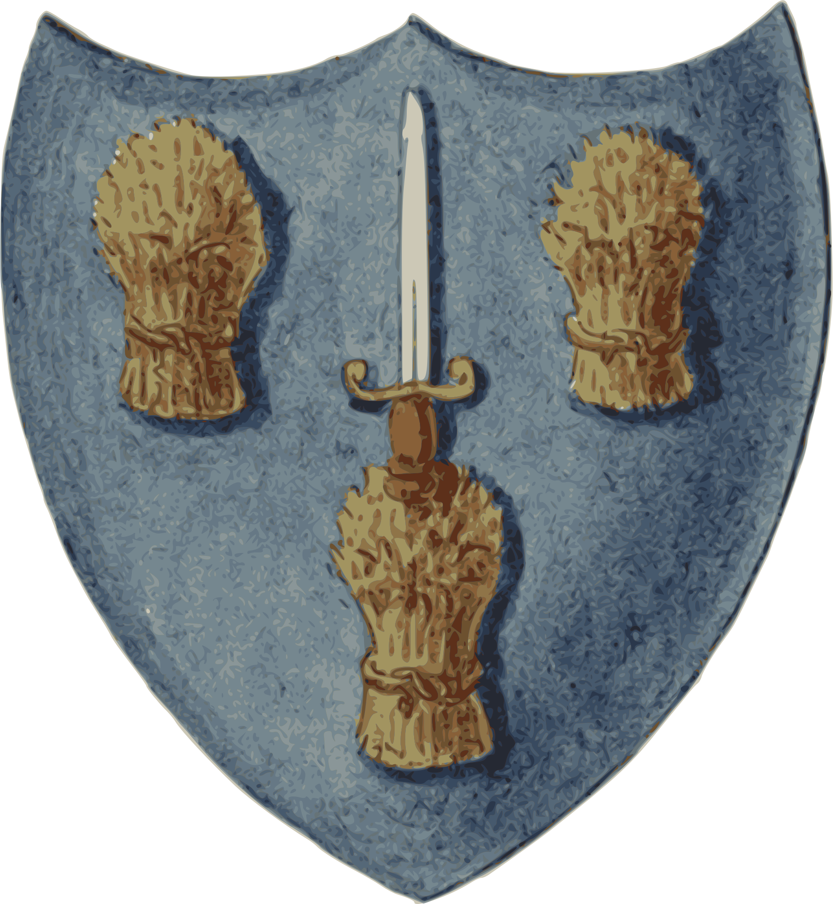 Arfbais Caer | Arms of Chester by addysgLLGC