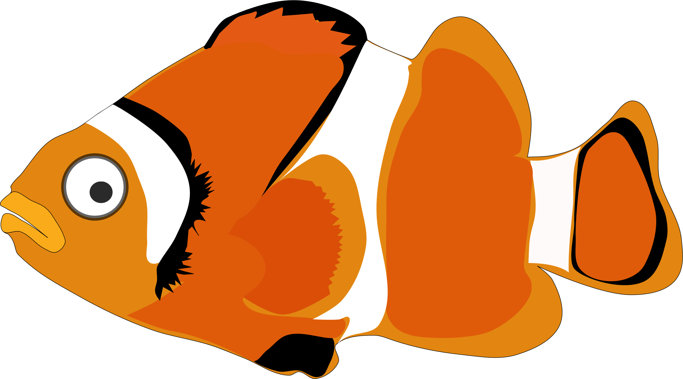 Clipart cartoon fish 1 for Cartoon fish pictures