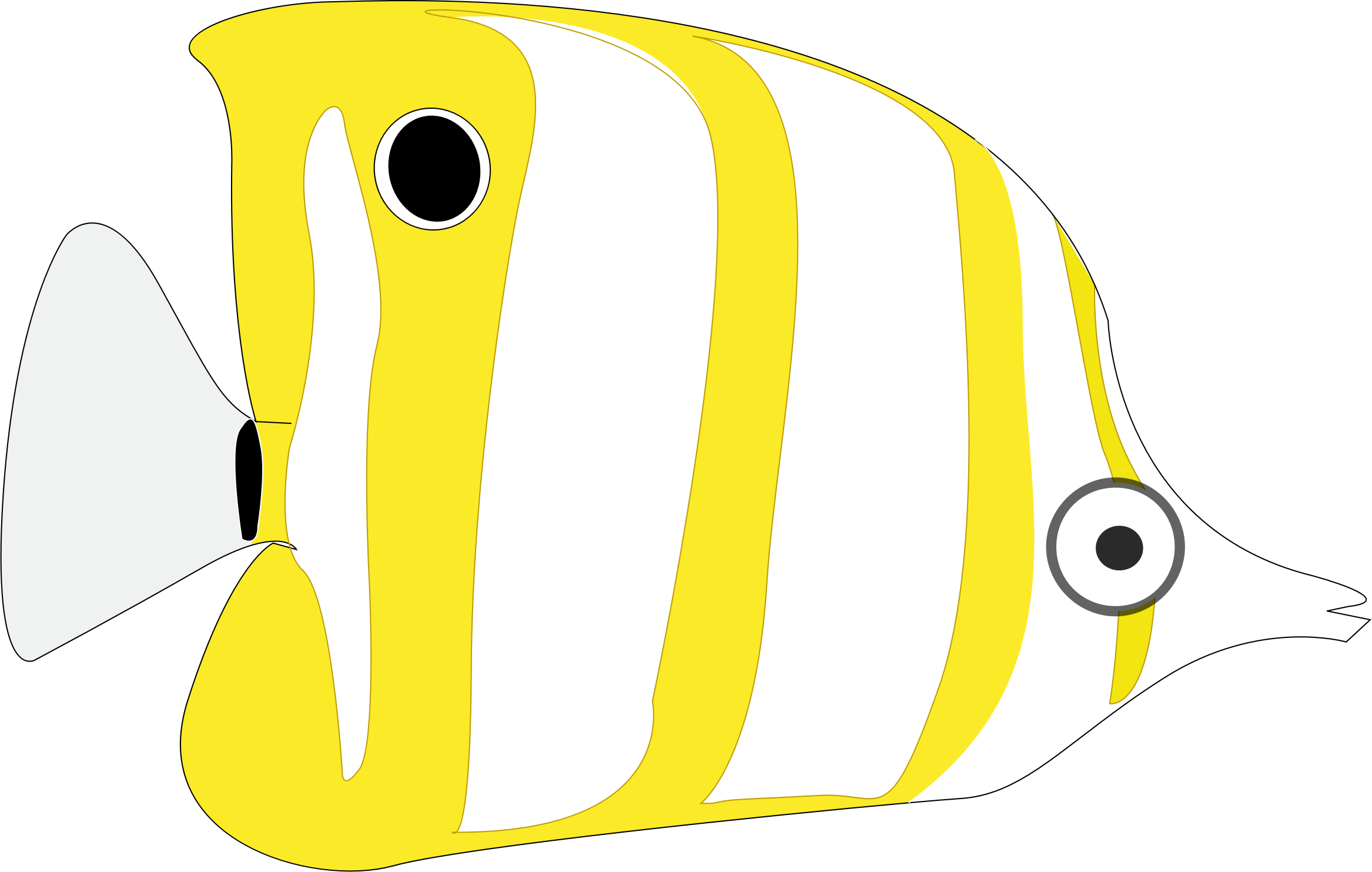 Clipart Tropical Cartoon Fish