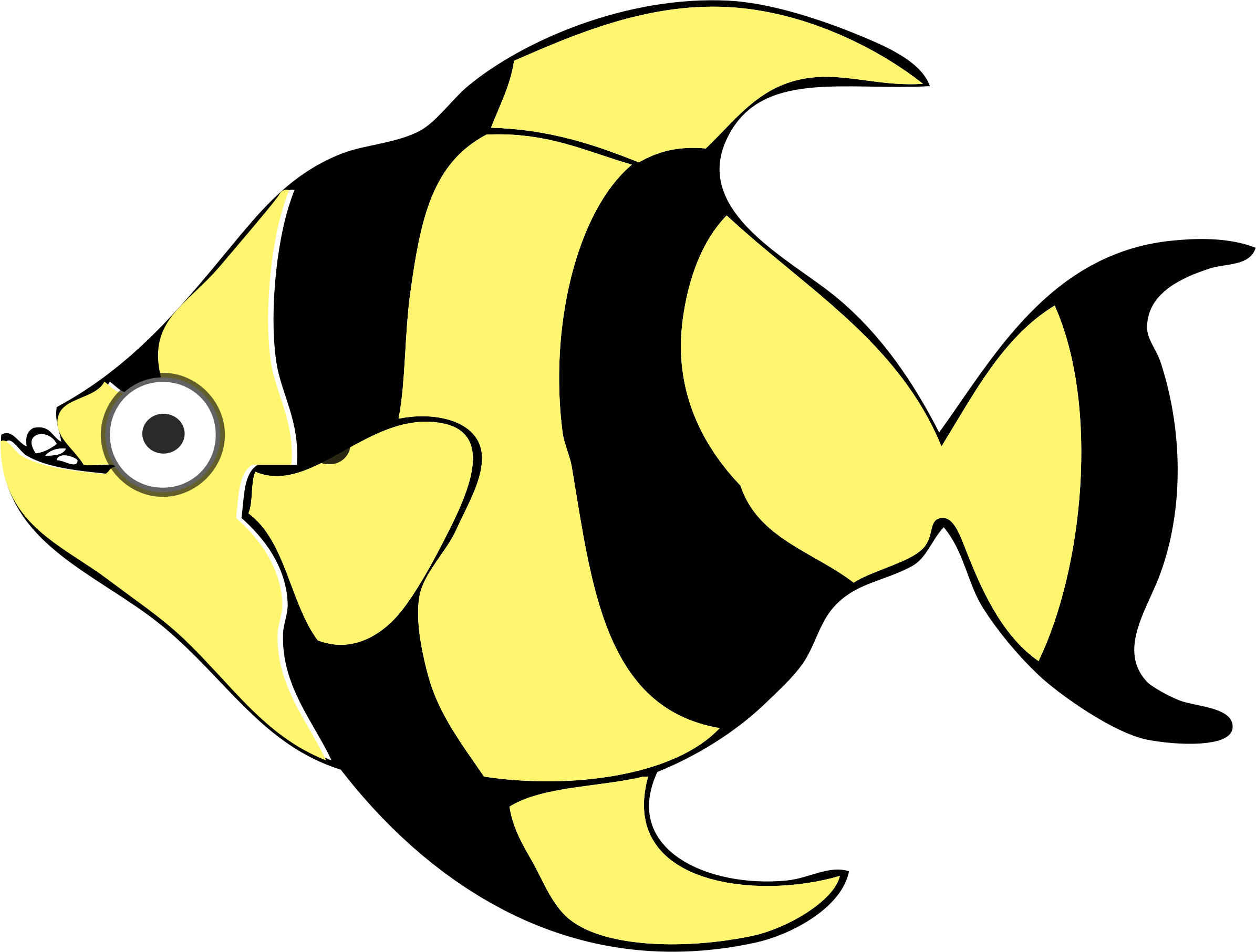 Clipart Cartoon Tropical Fish