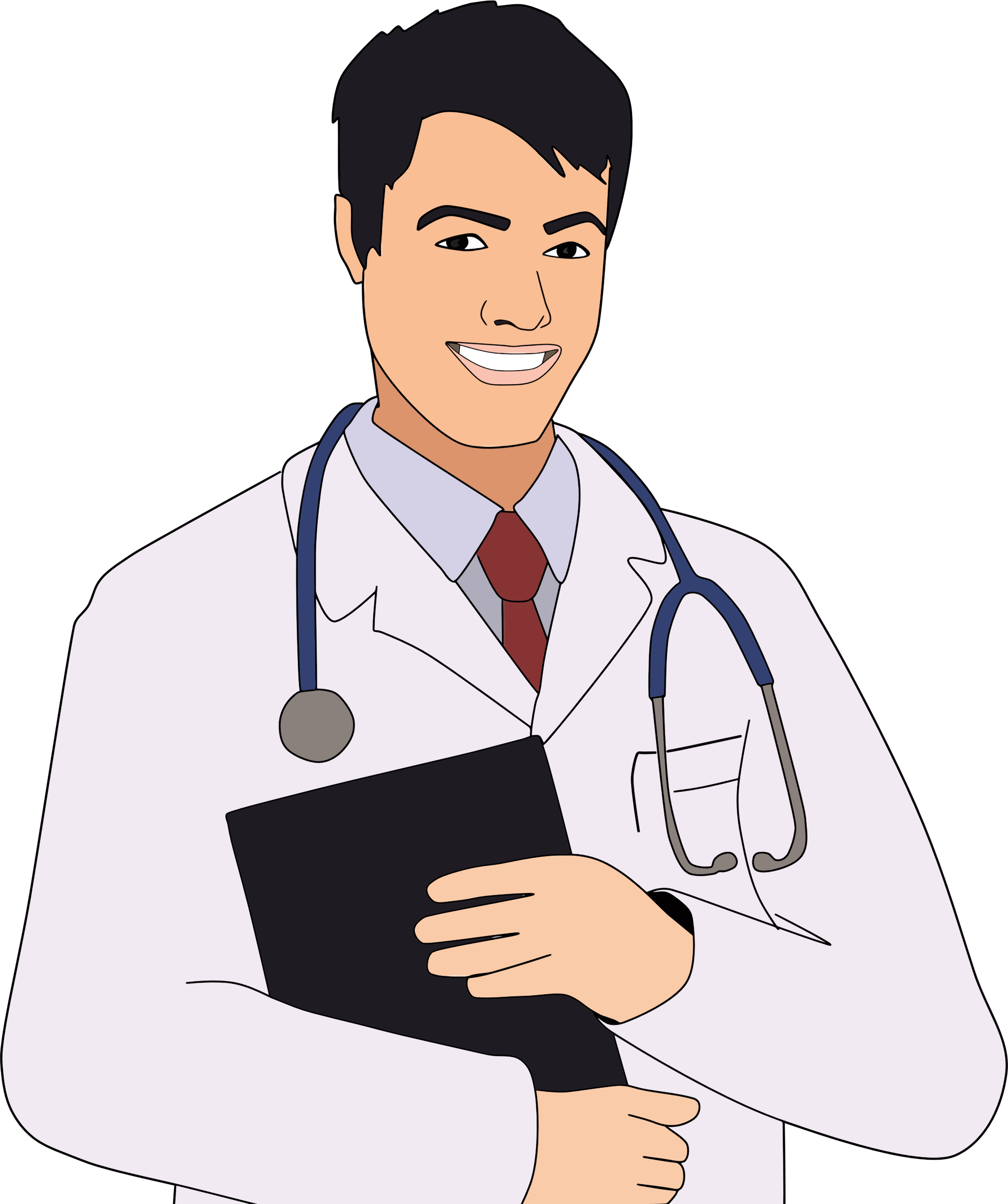 Young Male Doctor by GDJ