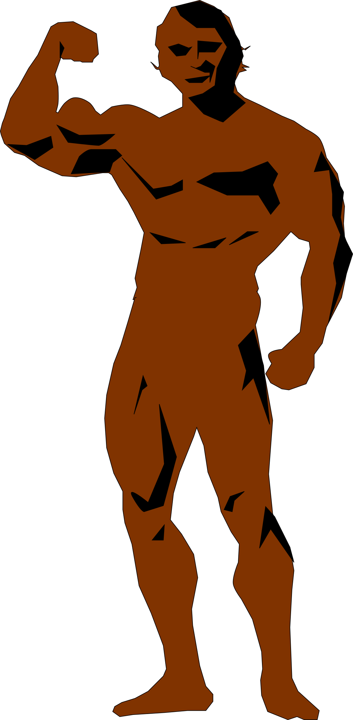 Clipart - Body Builder